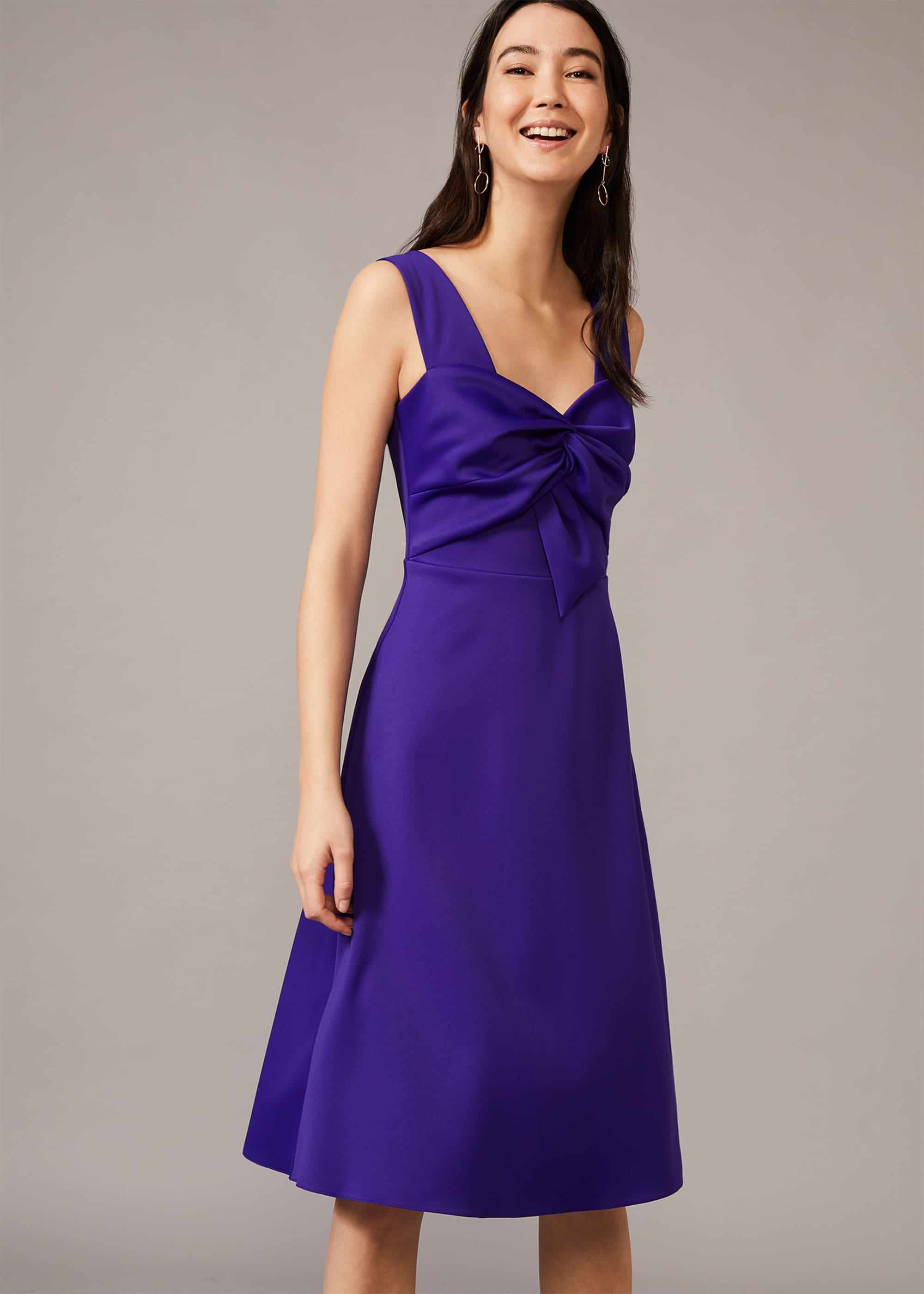 Phase Eight Women Jadine Bow Fit & Flare Dress
