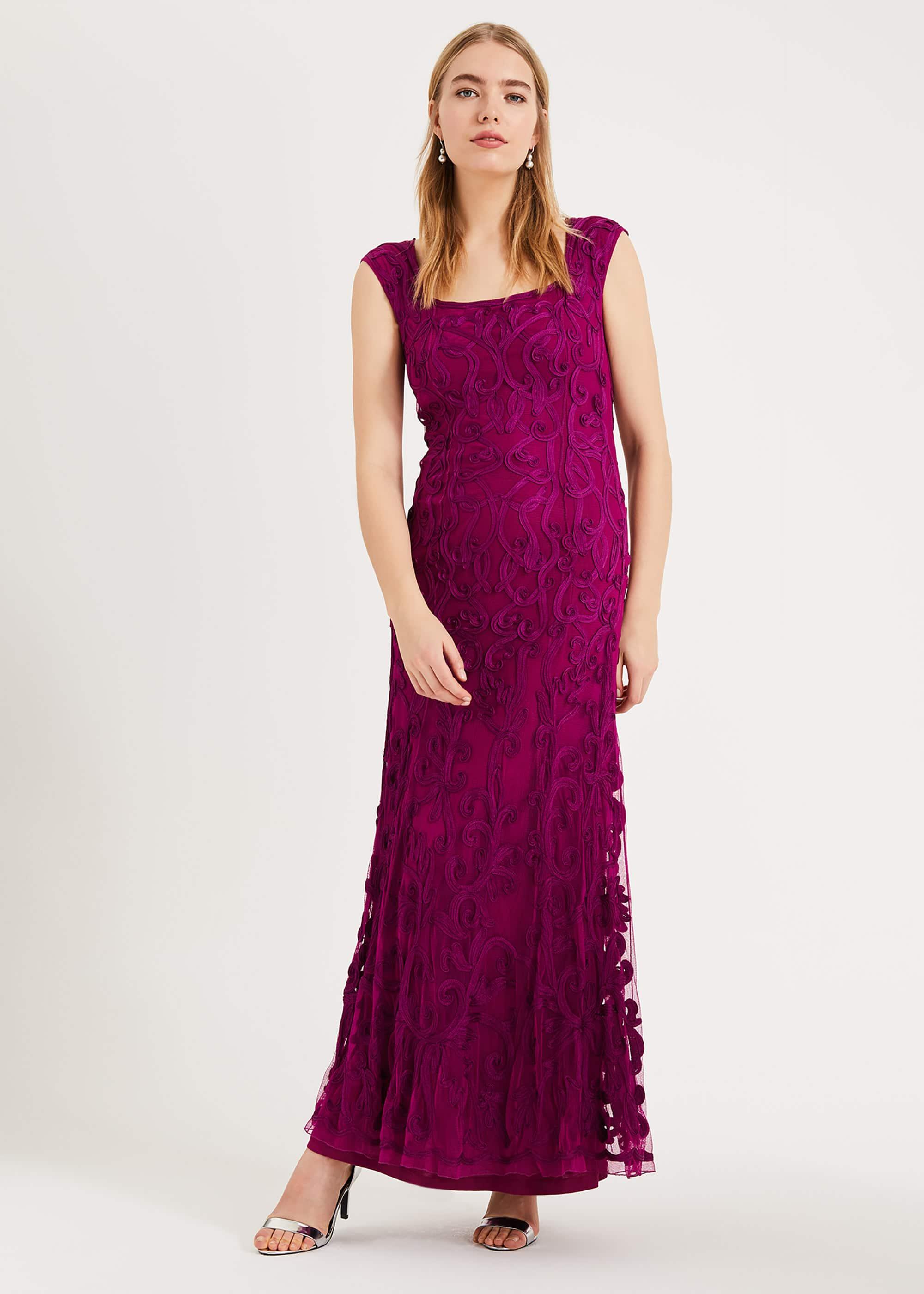 Phase Eight Women Abbie Tapework Lace Maxi Dress