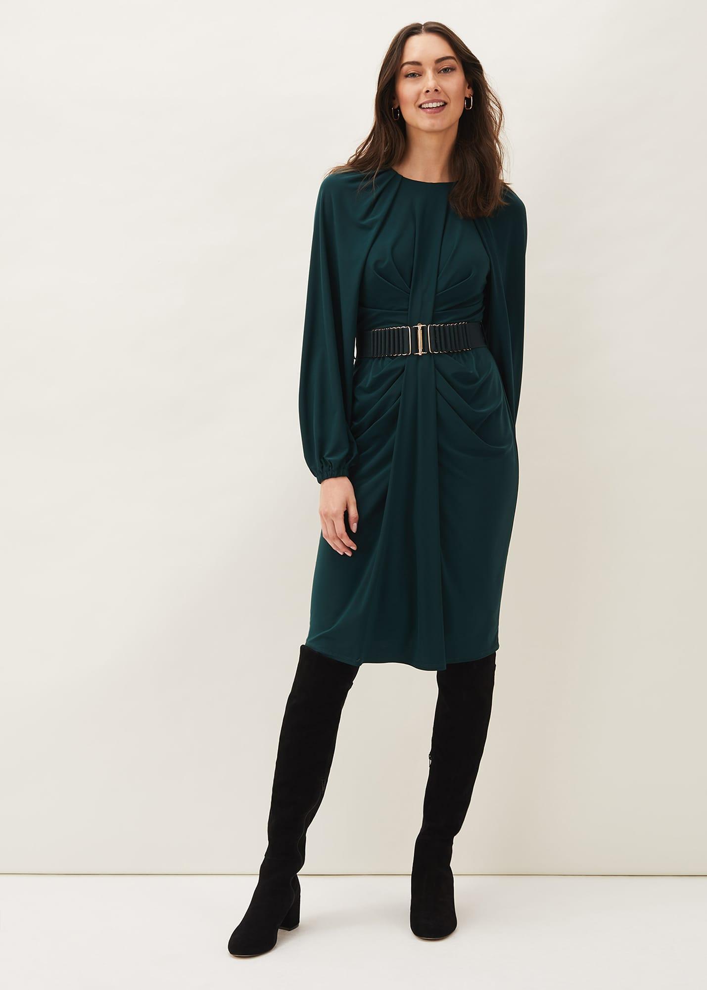 Phase Eight Women Mya Ruched Jersey Dress