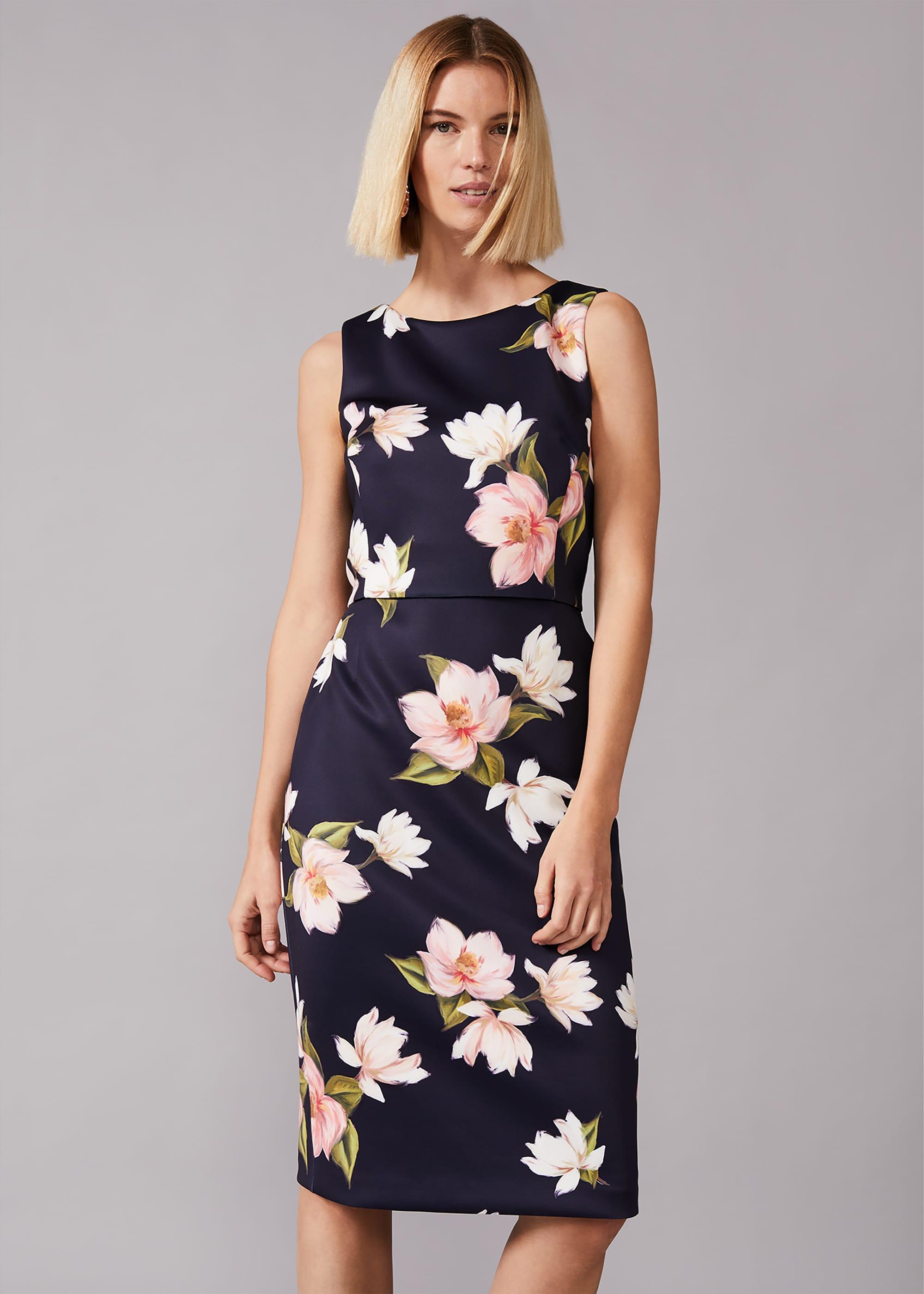 Phase Eight Women Amanda Floral Scuba Dress