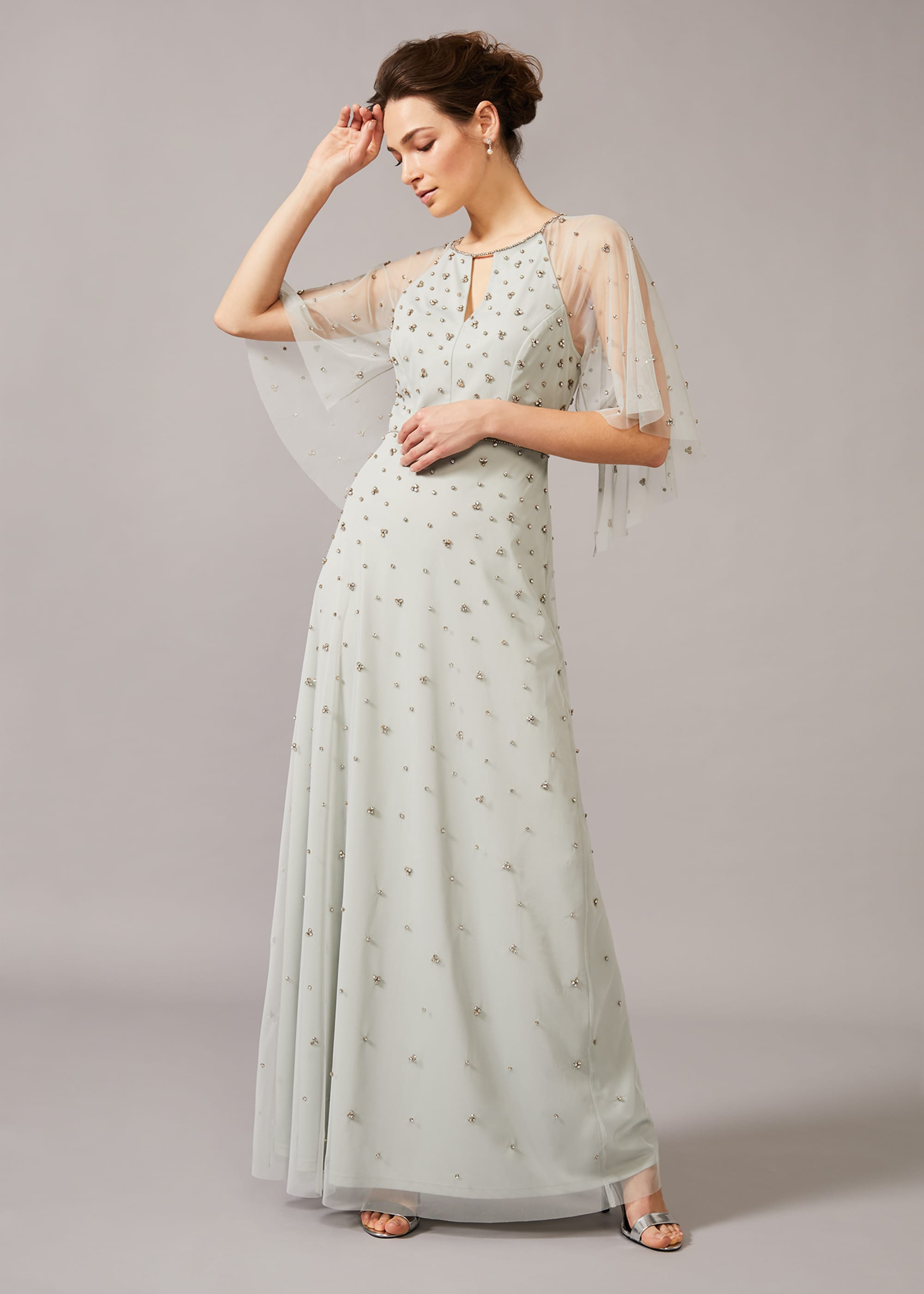 Phase Eight Women Blanca Sparkle Tulle Dress