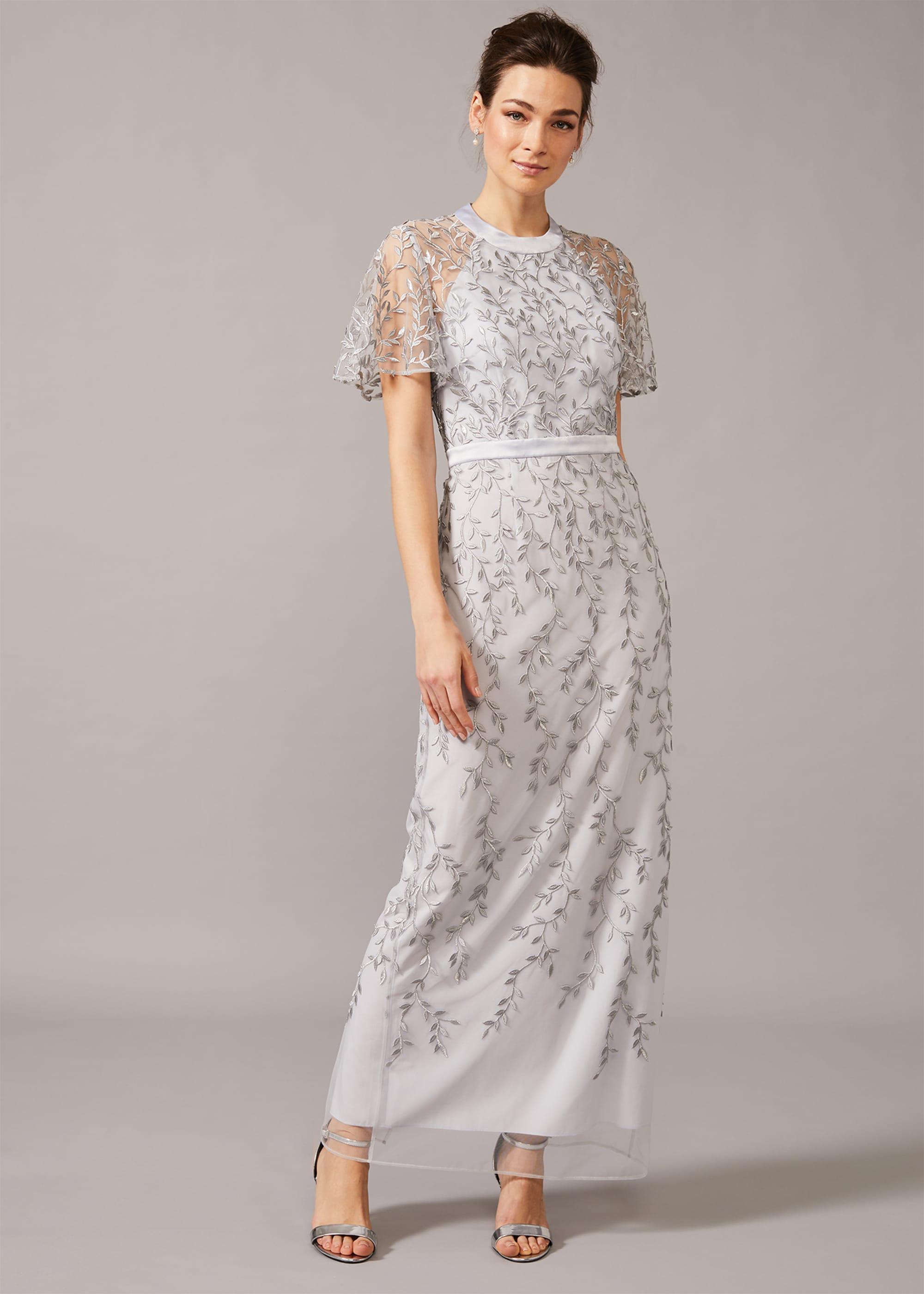 Phase Eight Women Elsbeth Trailing Leaf Dress