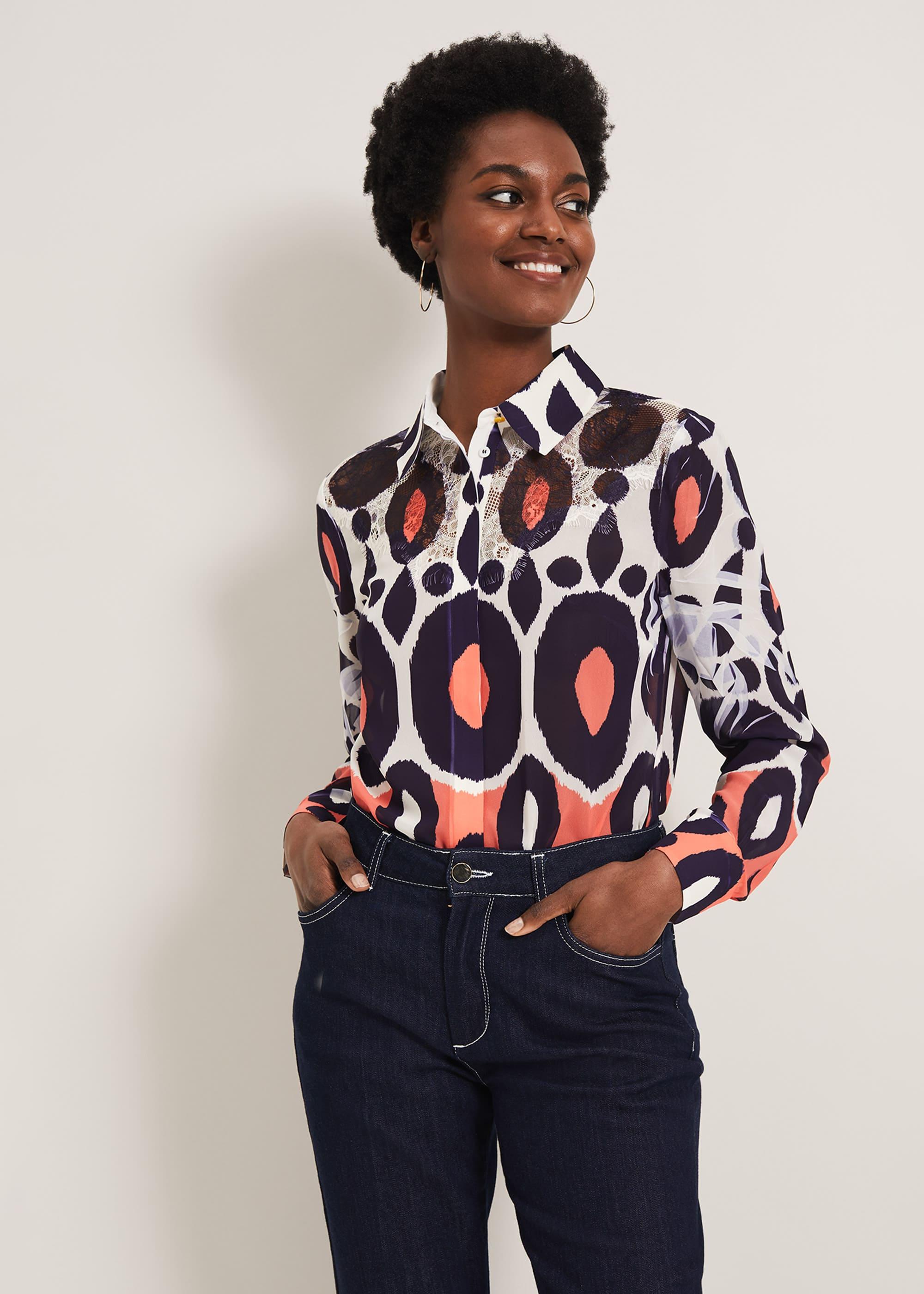 Damsel in a Dress Women Zuri Print Blouse