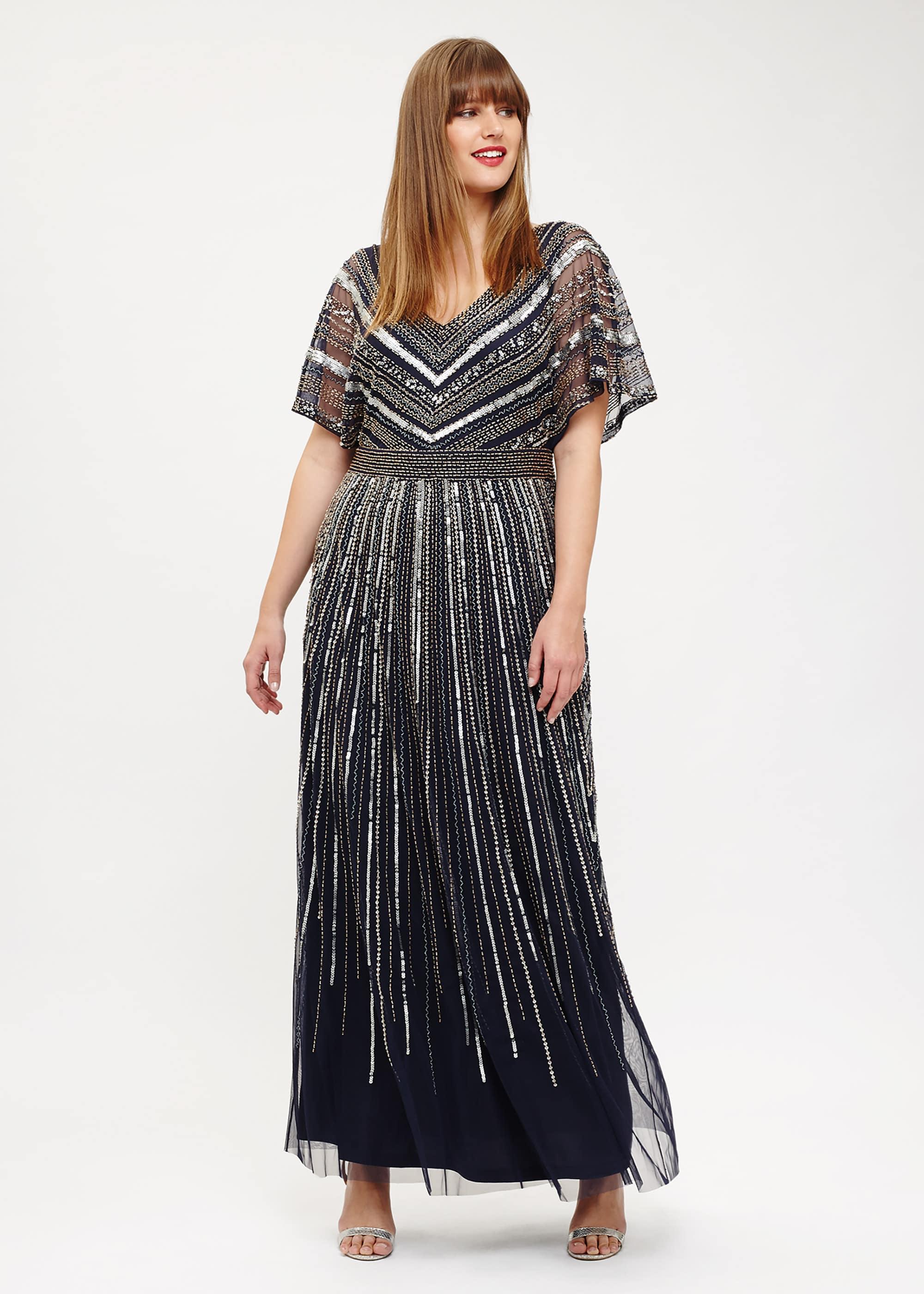 Studio 8 Women Avalon Beaded Maxi Dress