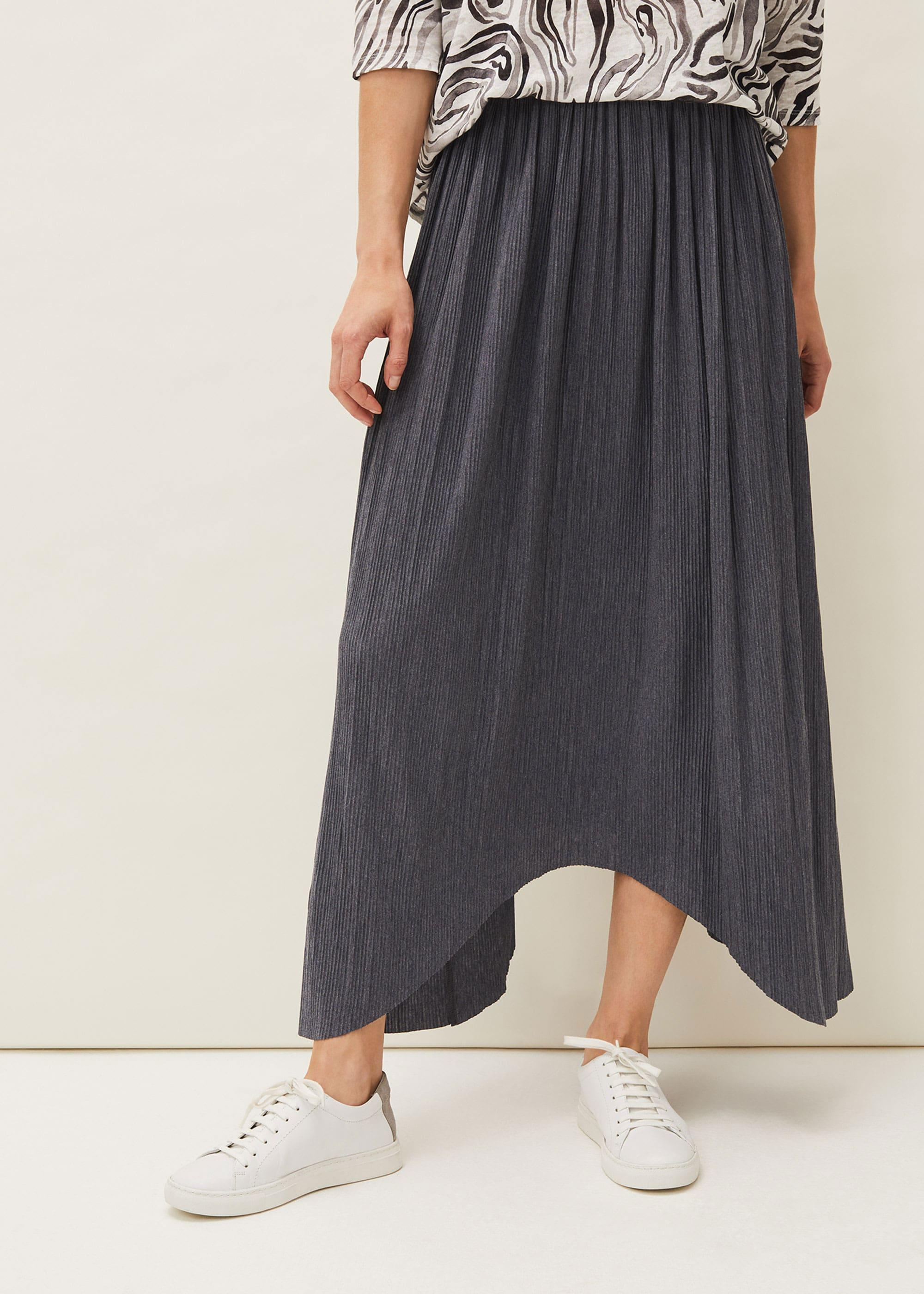 Phase Eight Women Roselle Plisse Maxi Skirt