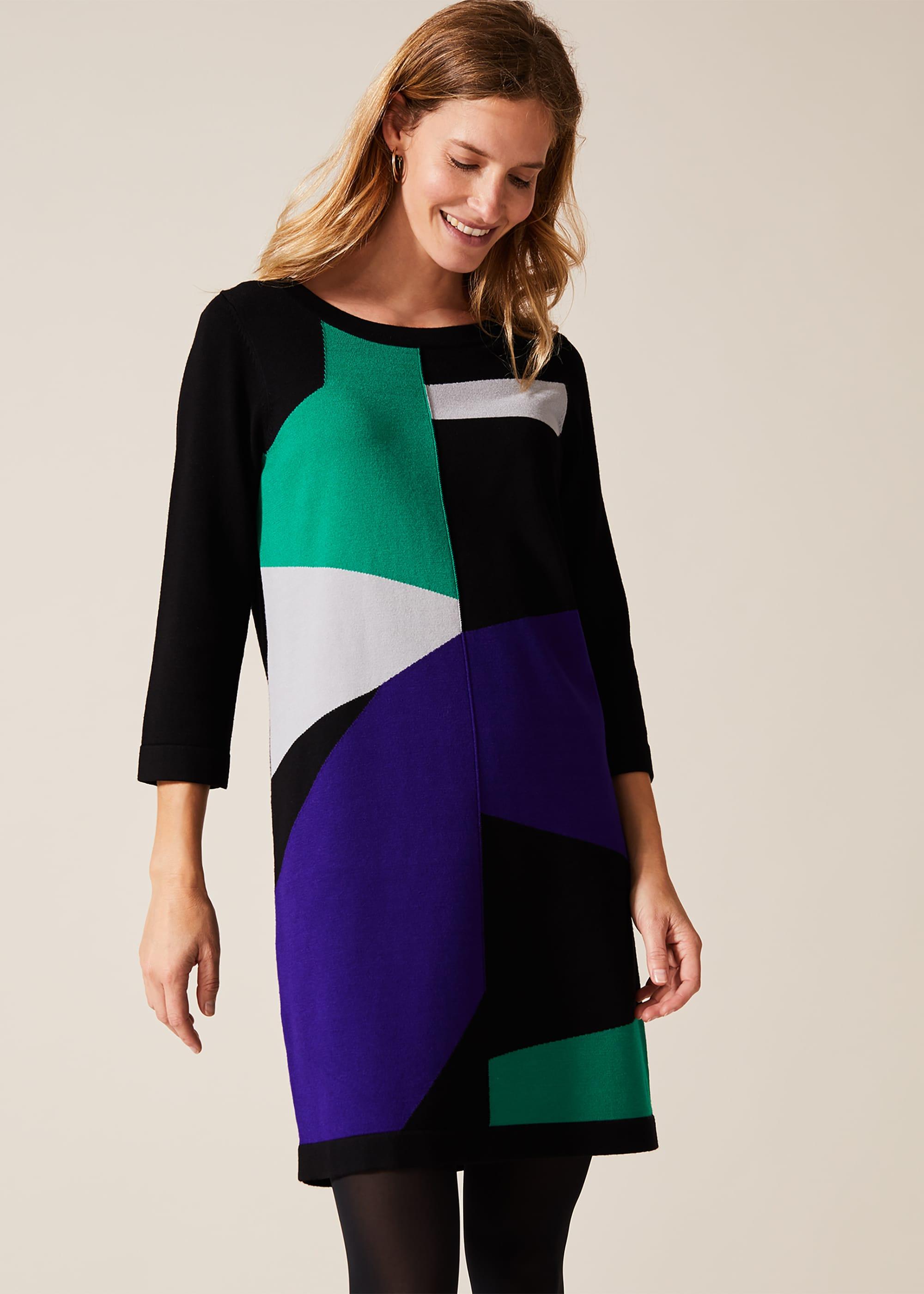 Phase Eight Women Caleigh Colourblock Dress