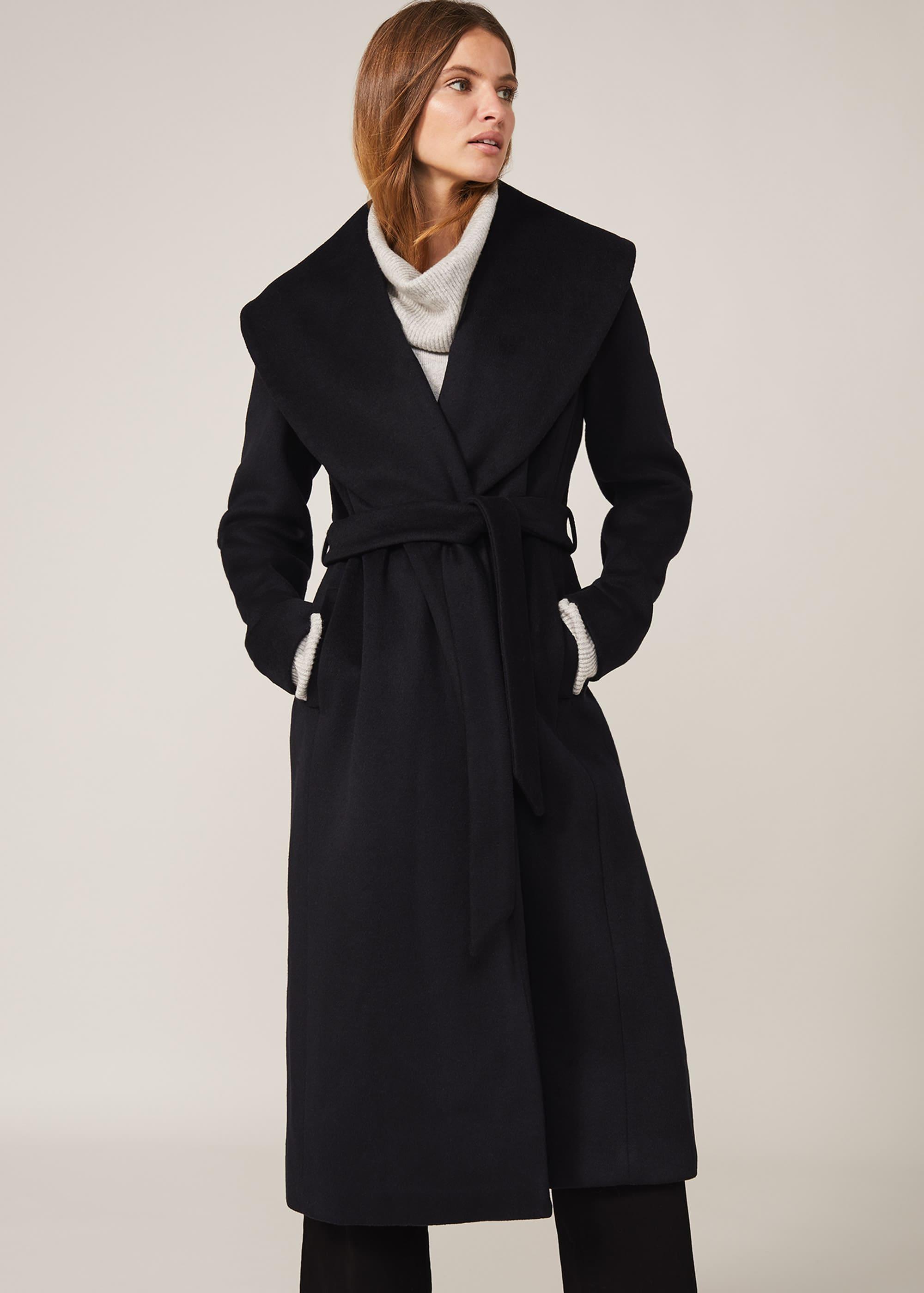 Phase Eight Women Ariana Wool Wrap Coat