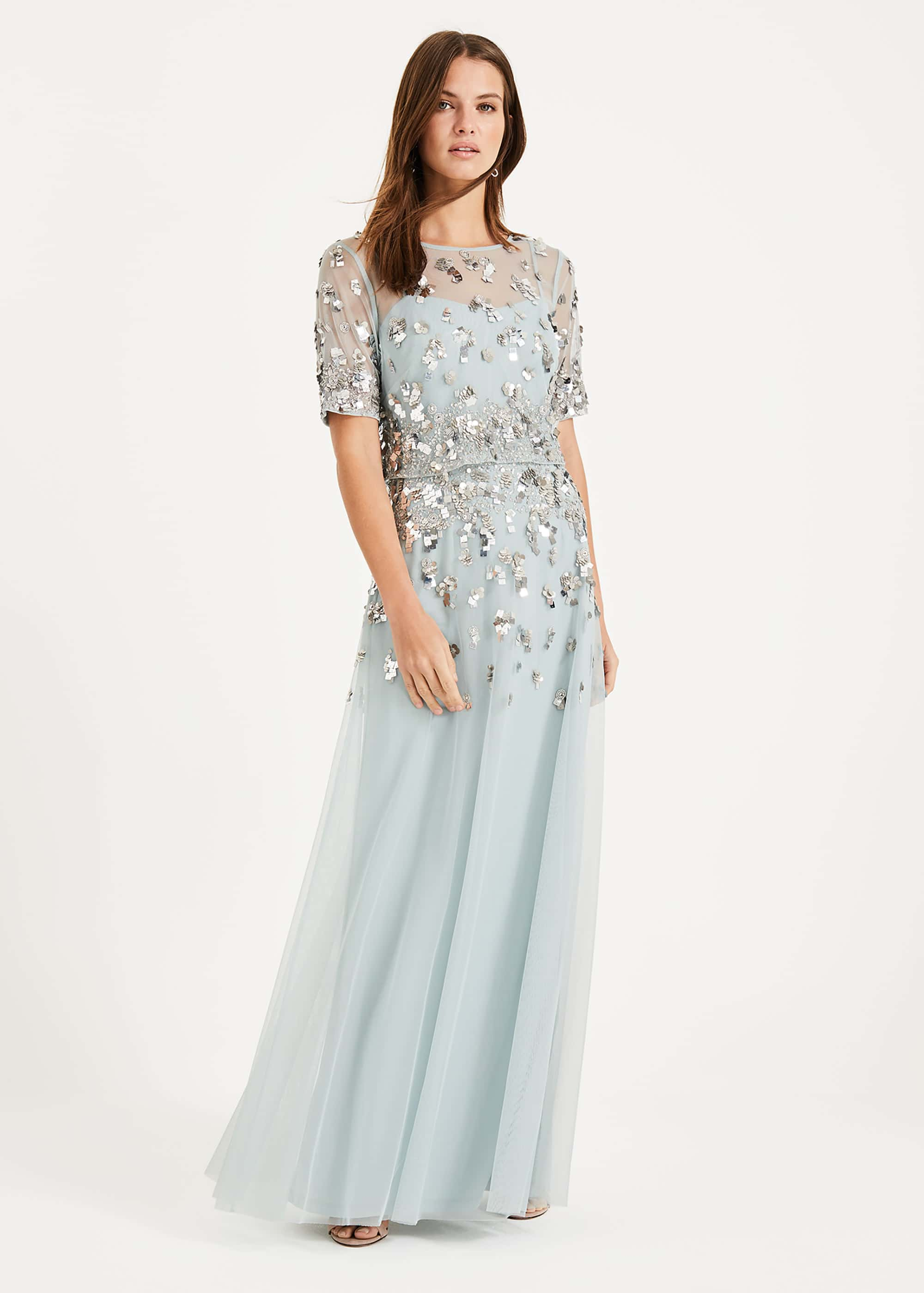Phase Eight Women Christina Sequin Maxi Dress