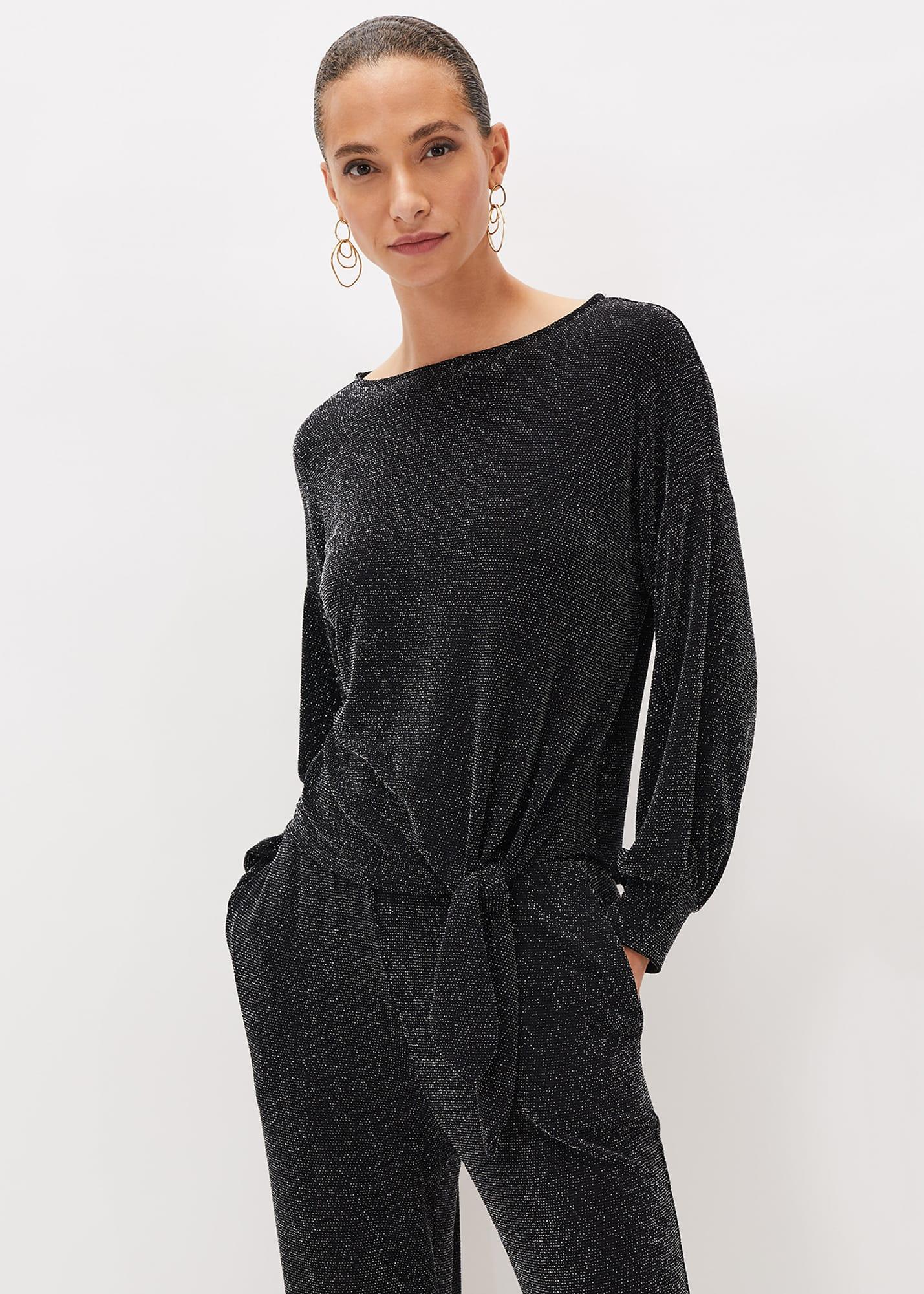 Phase Eight Women Saskia Shimmer Jersey Top