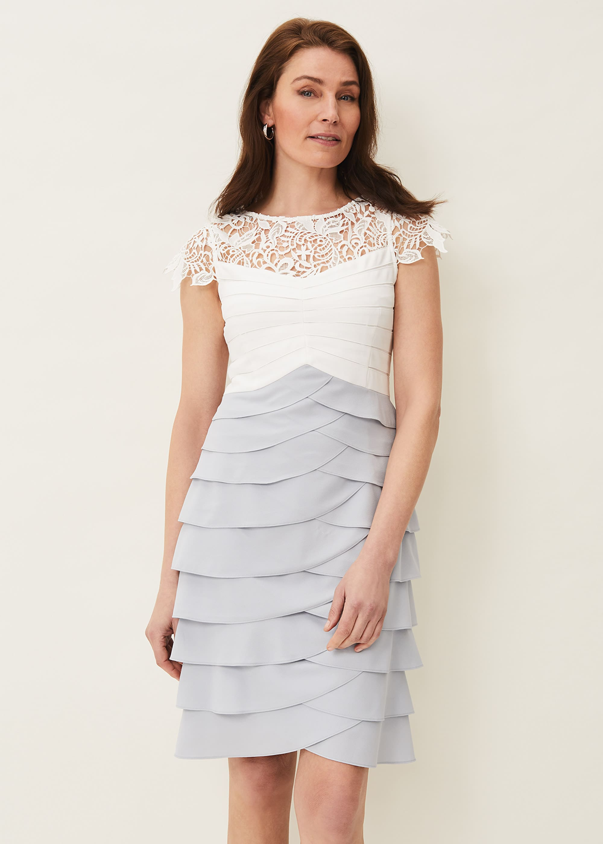 Phase Eight Women Faith Contrast Fitted Dress