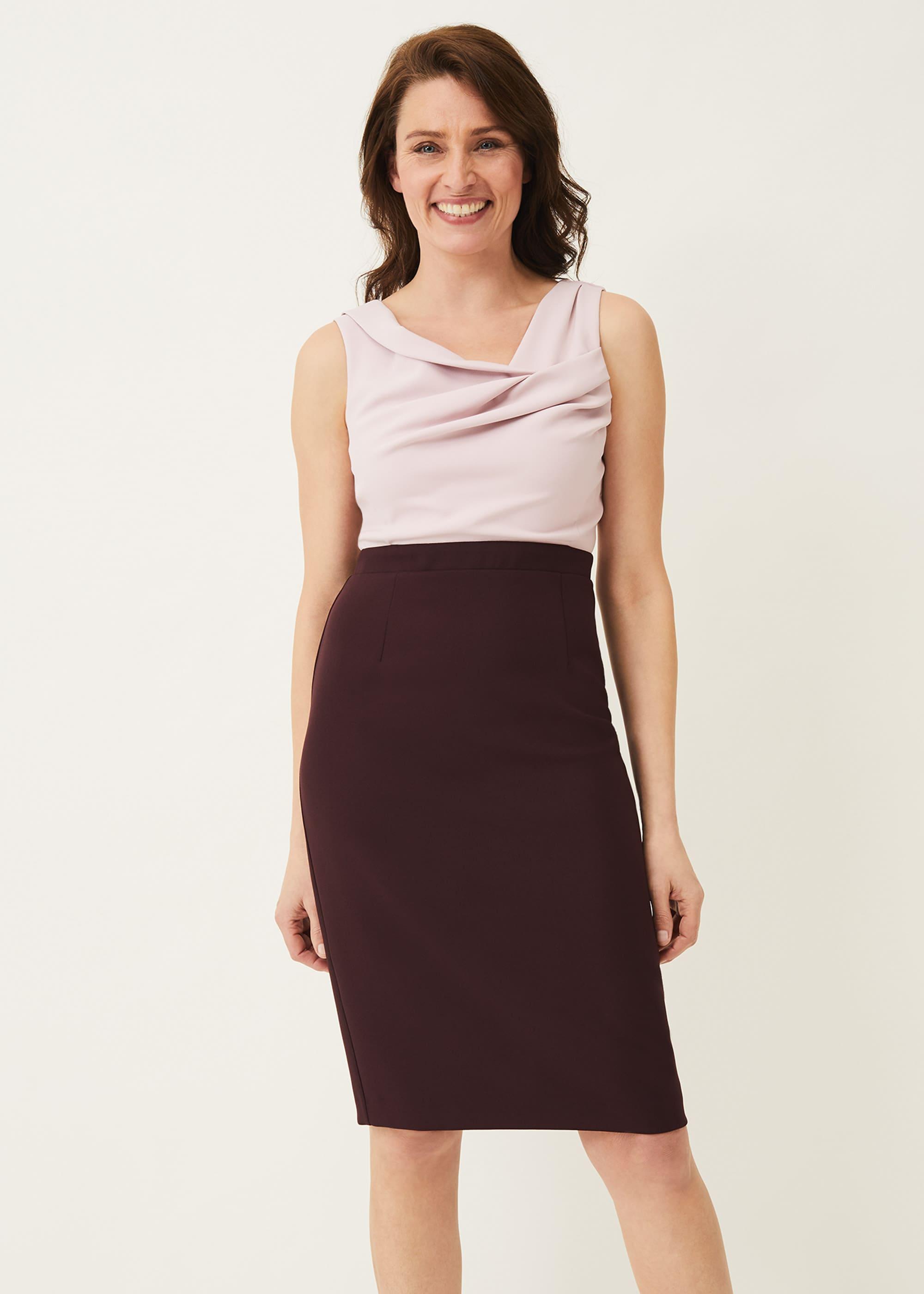 Phase Eight Women Tandi Contrast Bodice Dress