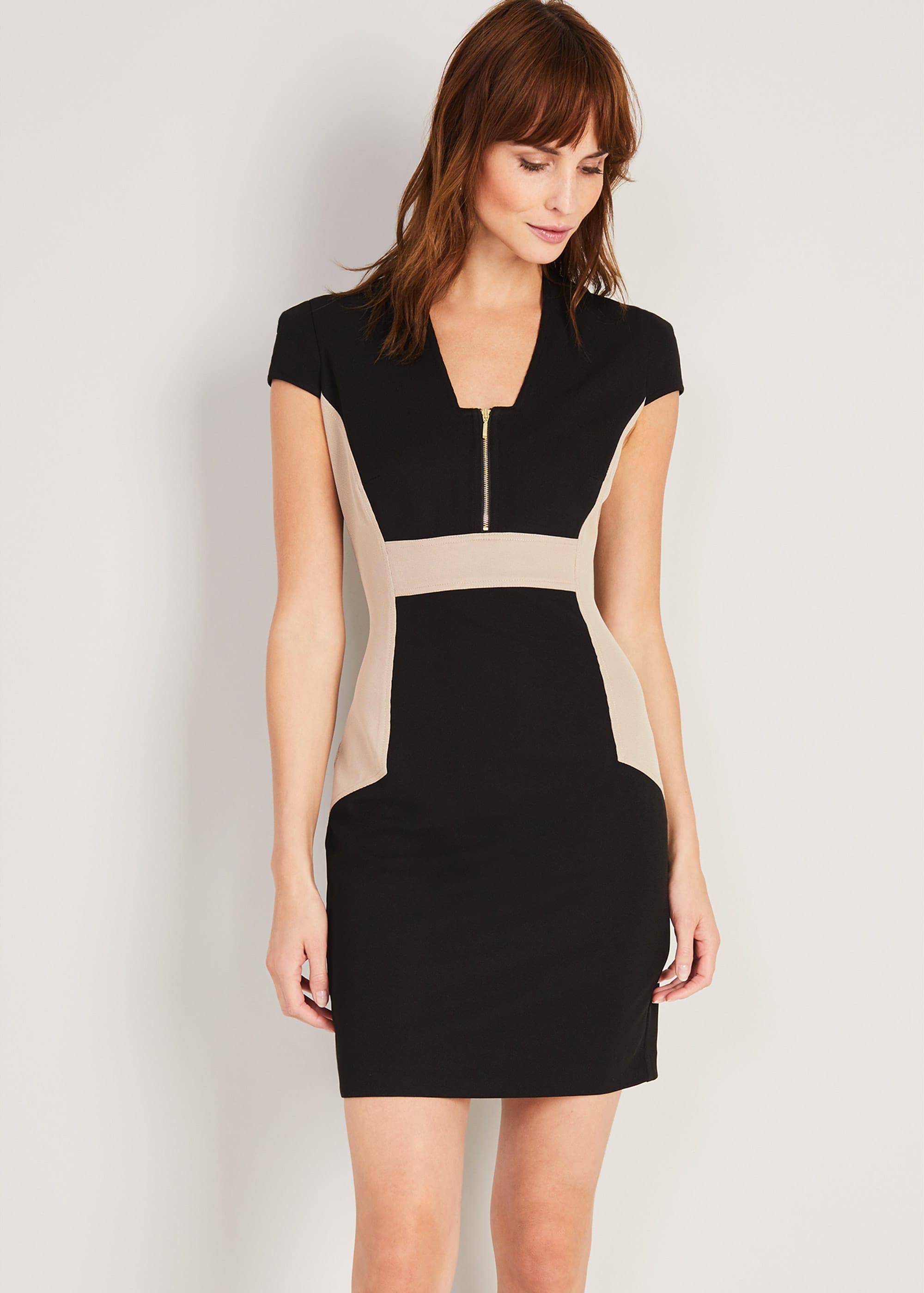 Damsel in a Dress Women Bonnie Colourblock Dress