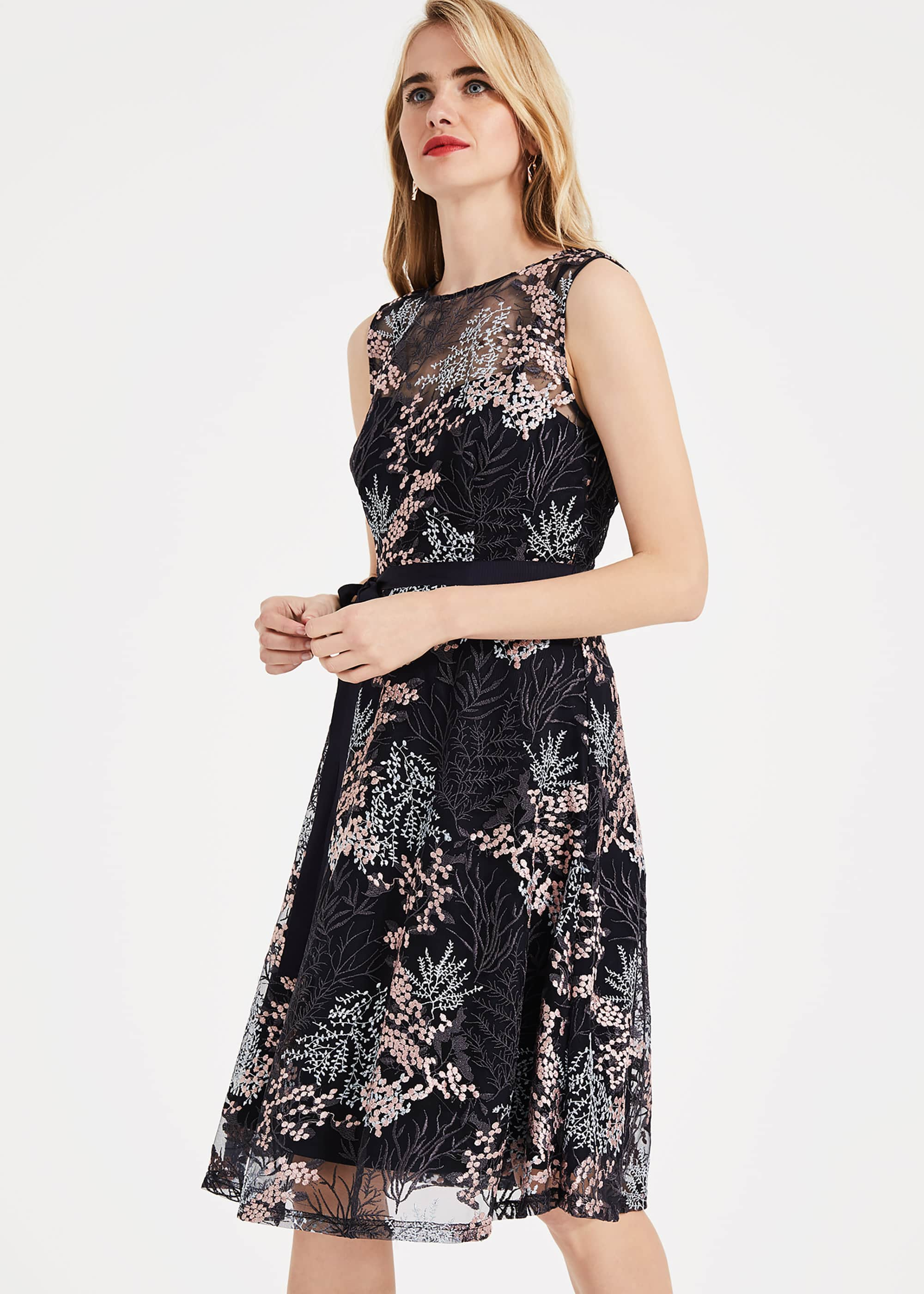 Phase Eight Women Audrina Embroidered Dress
