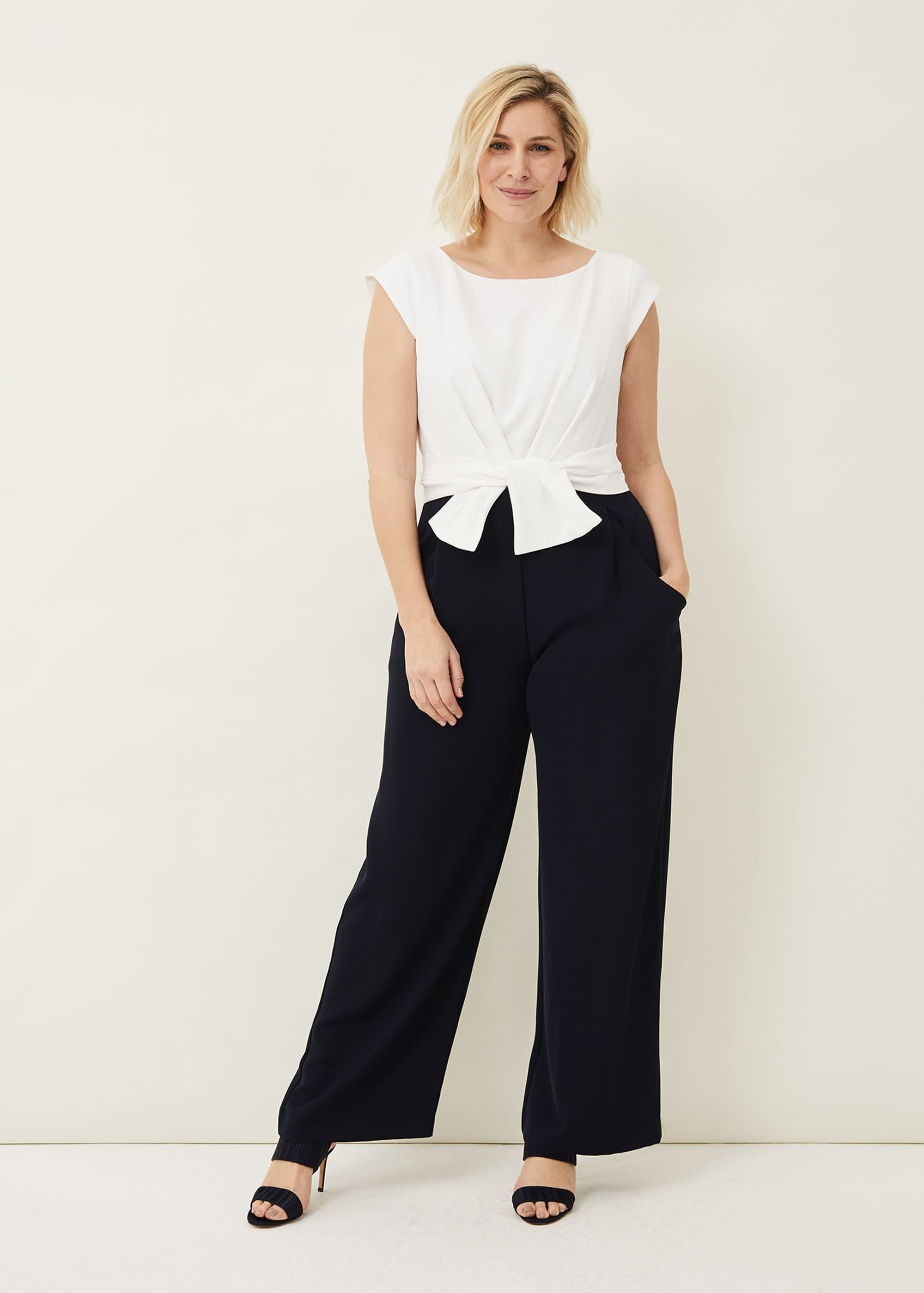 Phase Eight Women Janey Knot Detail Jumpsuit