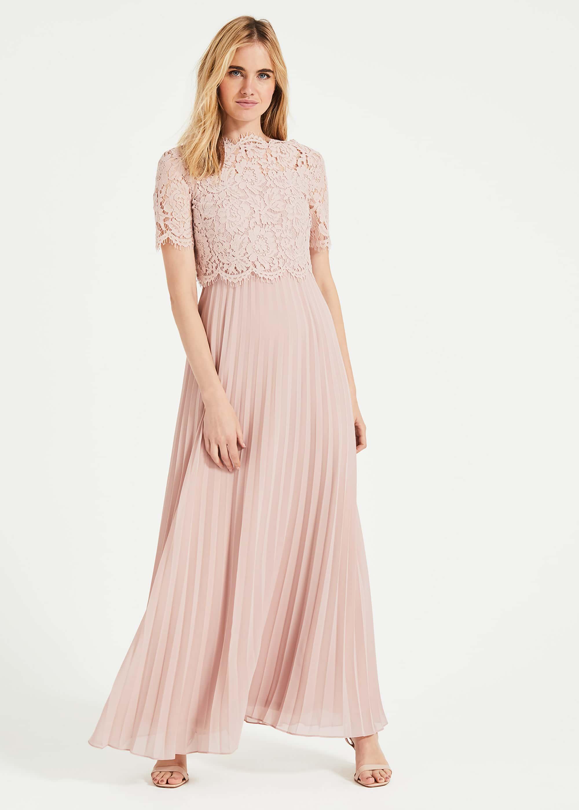 Phase Eight Women Elisabetta Lace Pleated Dress