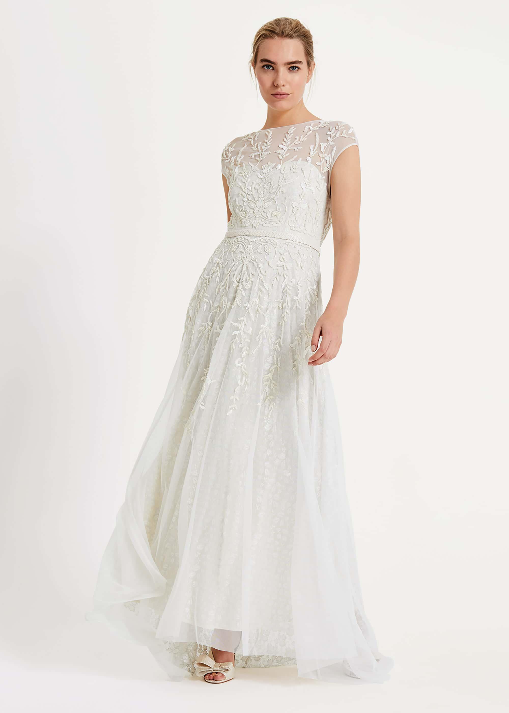 Phase Eight Women Mylee Embellished Wedding Dress