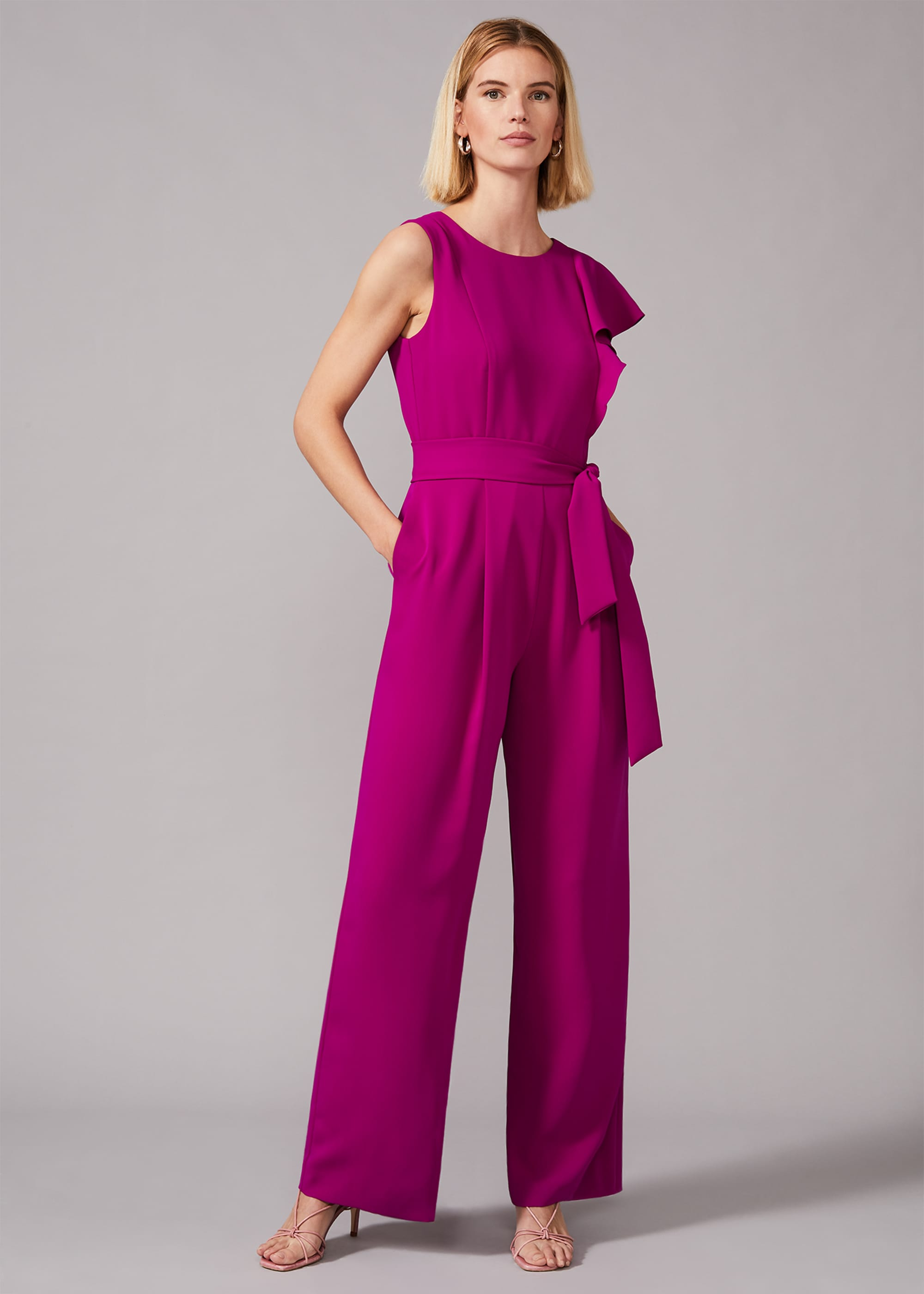 Phase Eight Women Anasia Frill Jumpsuit