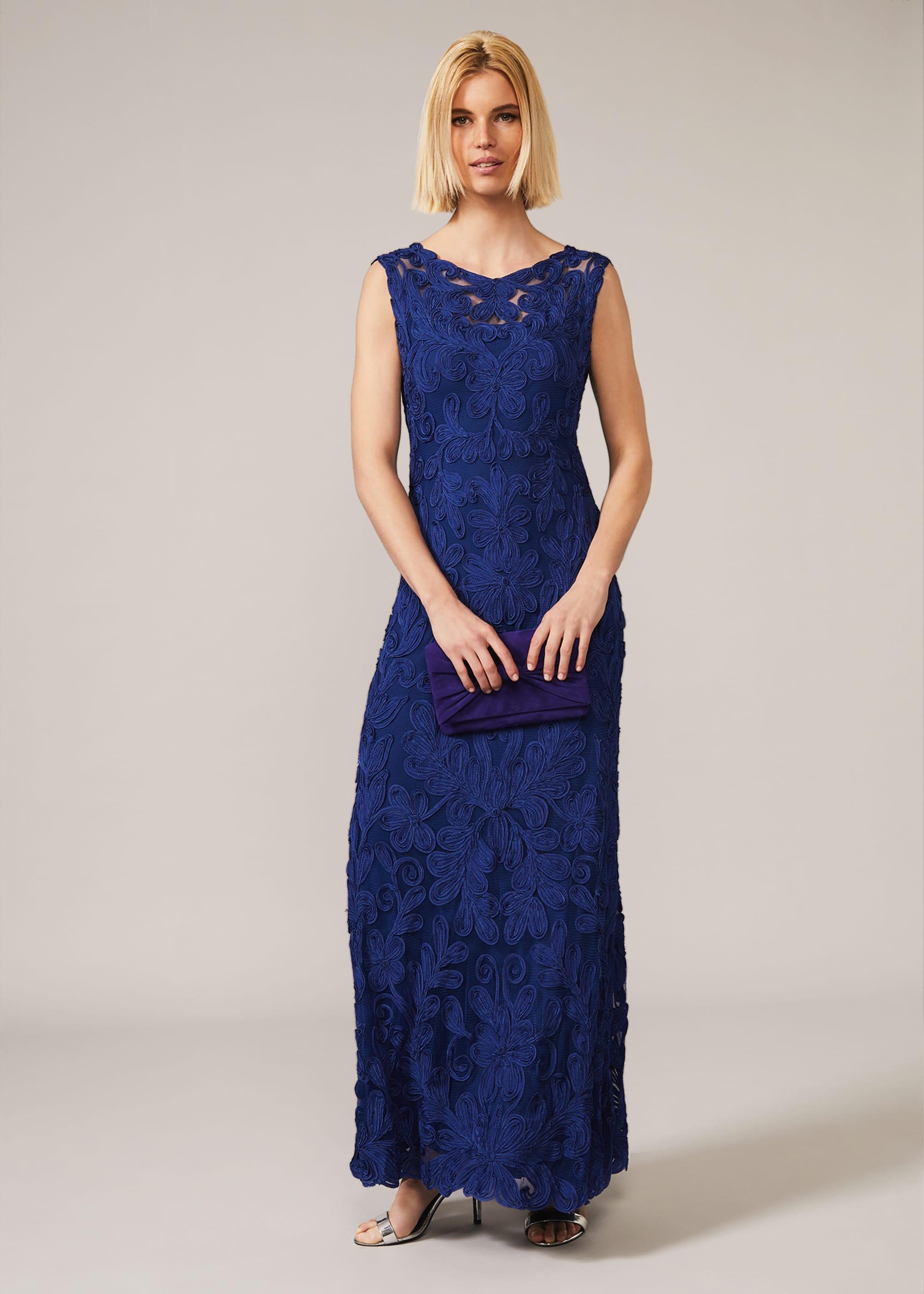 Phase Eight Women Gia Tapework Maxi Dress