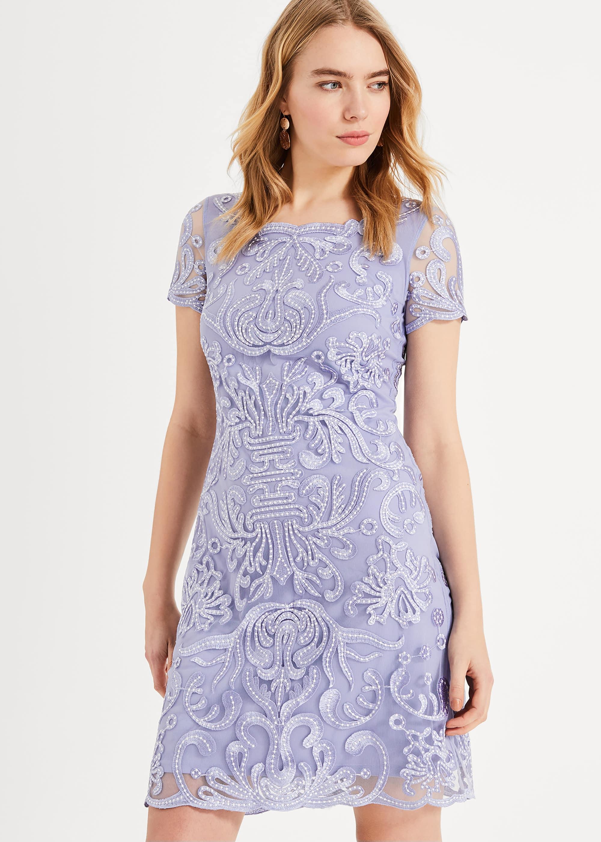 Phase Eight Women Natalia Embroidered Dress