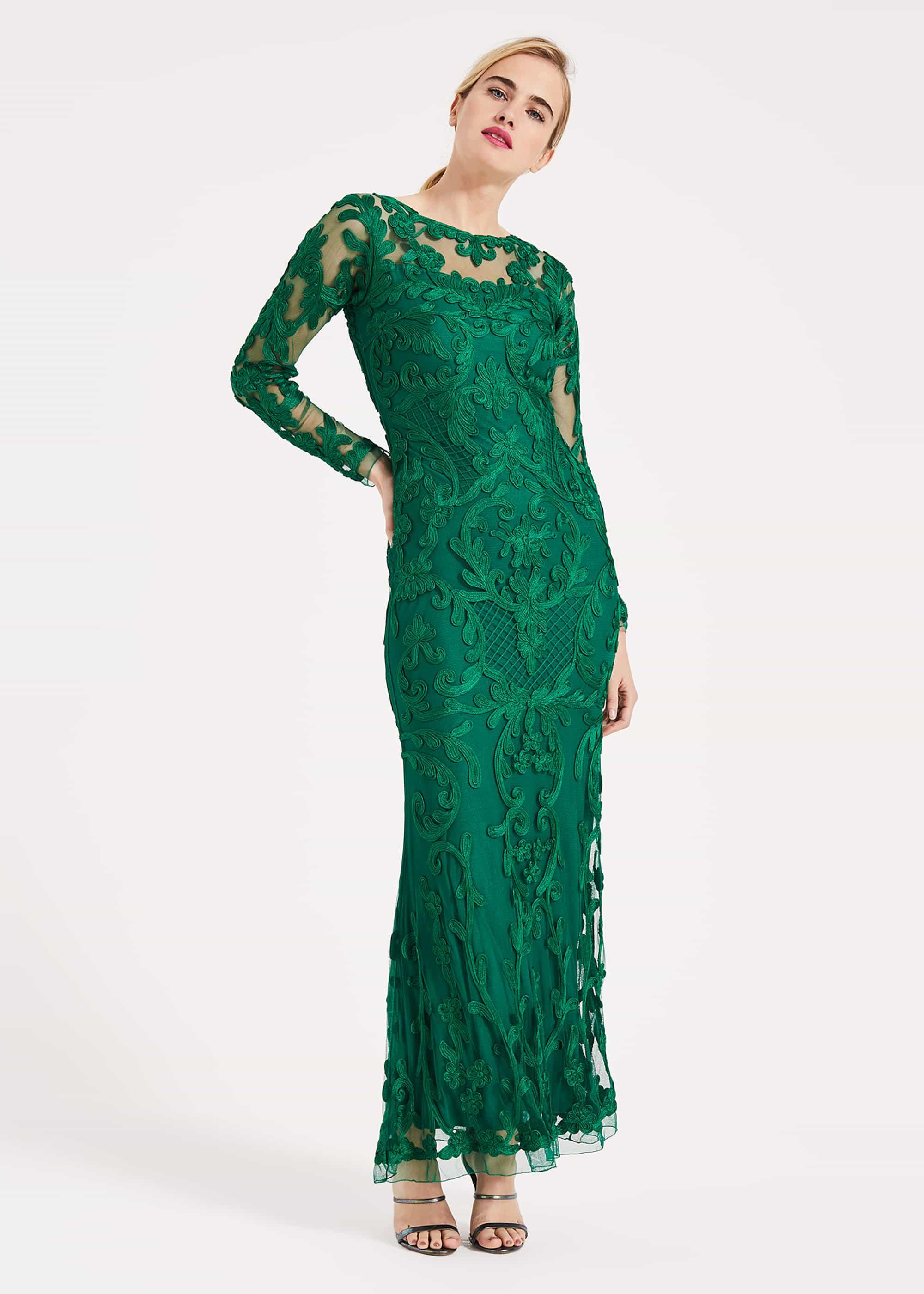 Phase Eight Women Nikita Tapework Lace Dress