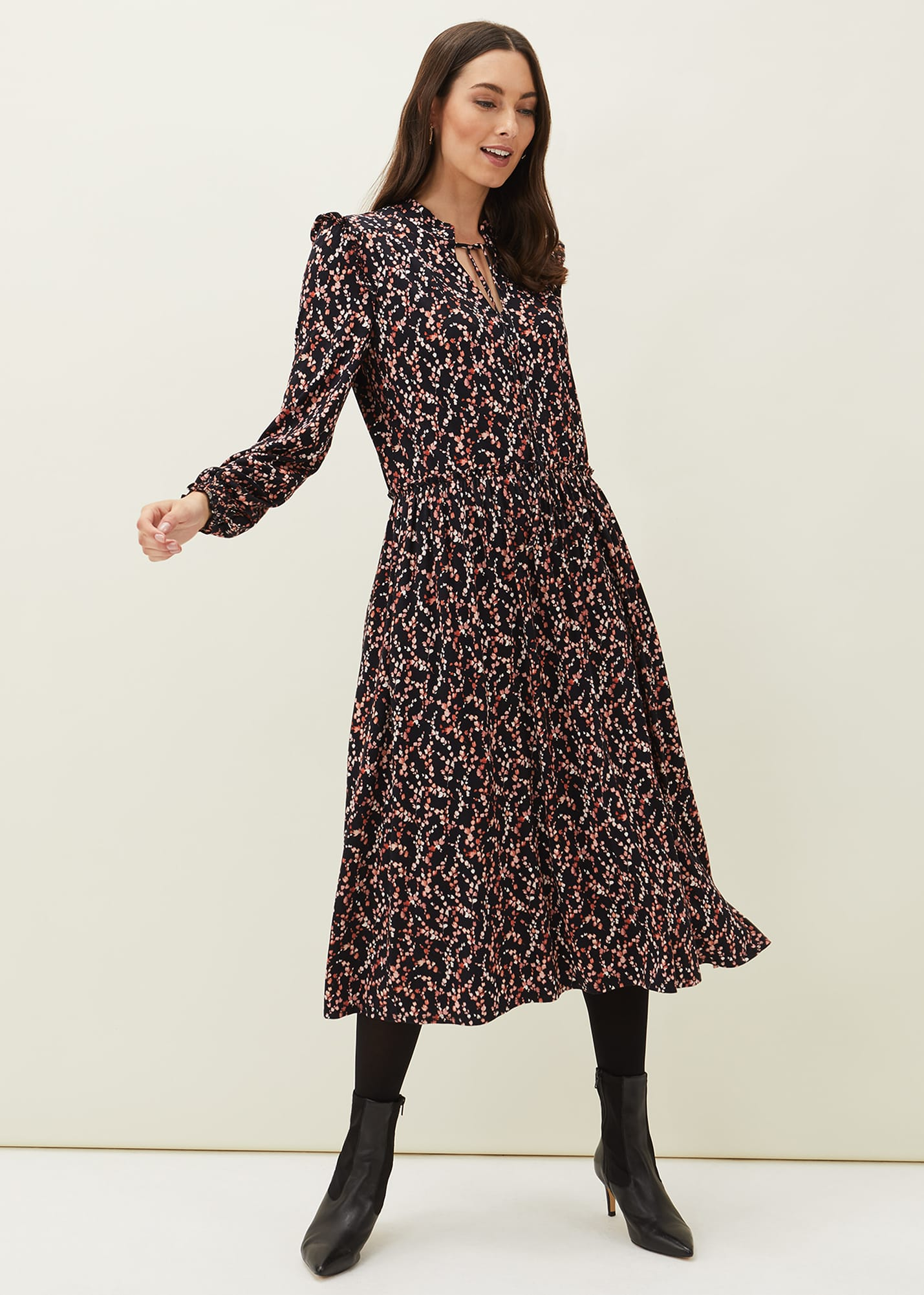 Phase Eight Women Shay Floral Midi Dress
