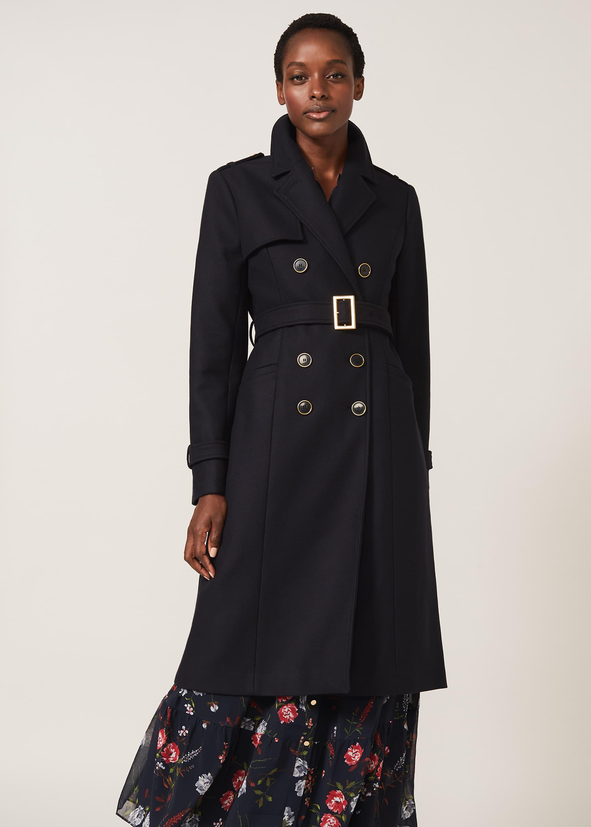 Phase Eight Women Manika Military Wool Coat