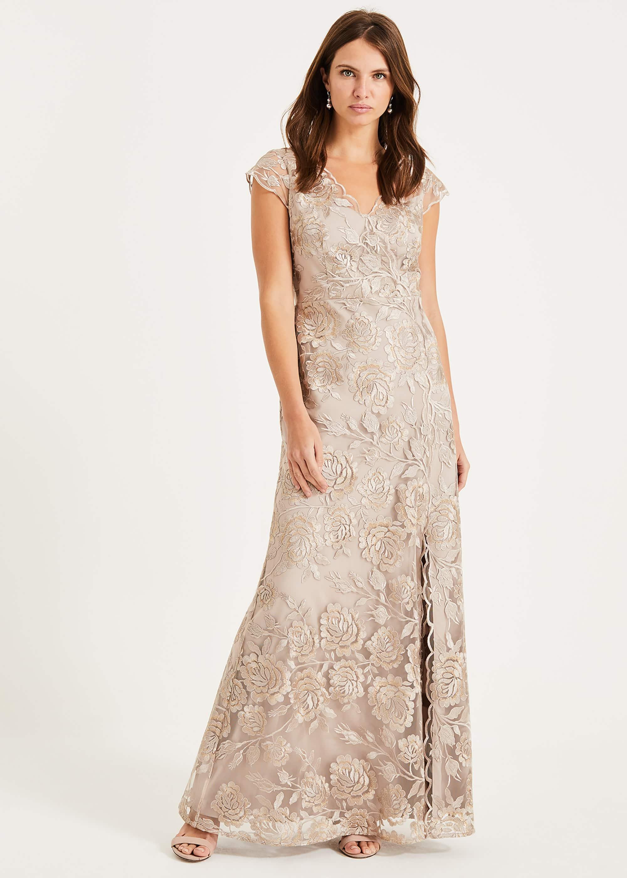 Phase Eight Women Velma Lace Maxi Dress