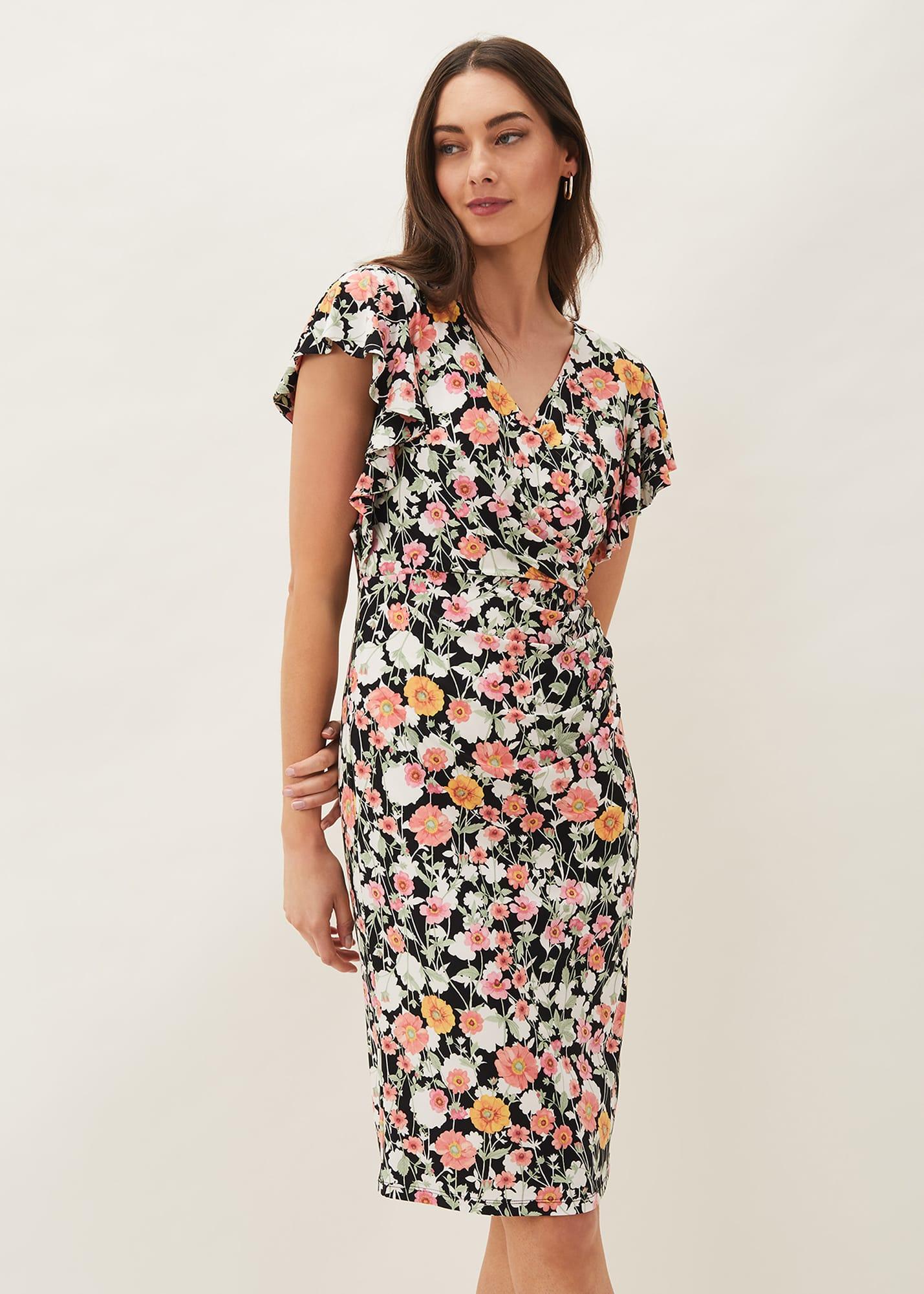 Phase Eight Women Maisie Floral Jersey Dress