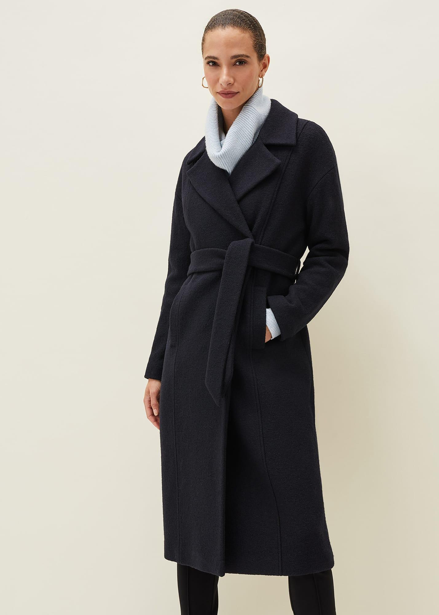 Phase Eight Women Carlotta Wrap Wool Coat
