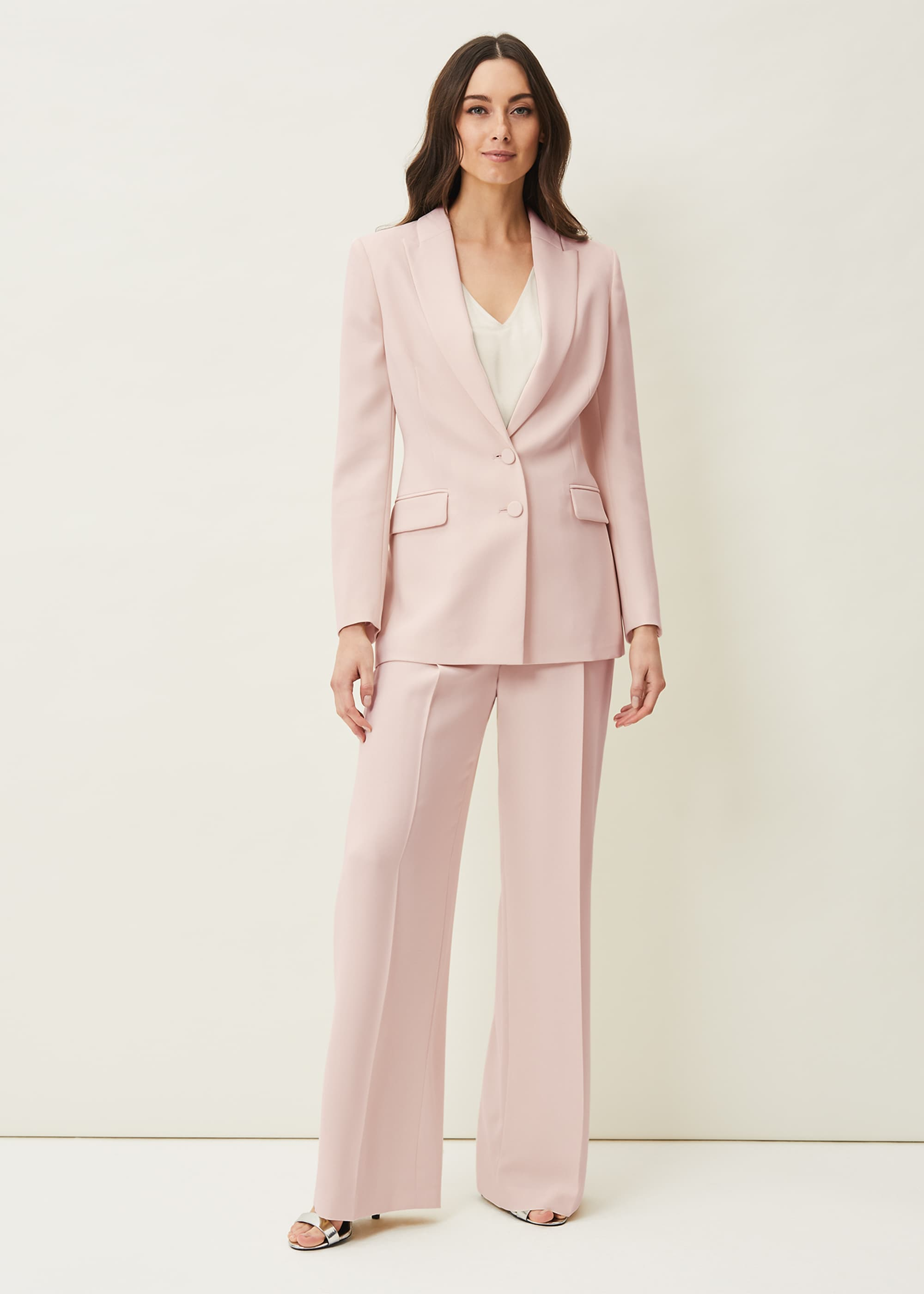 Phase Eight Women Cadie Wide Leg Suit Trousers