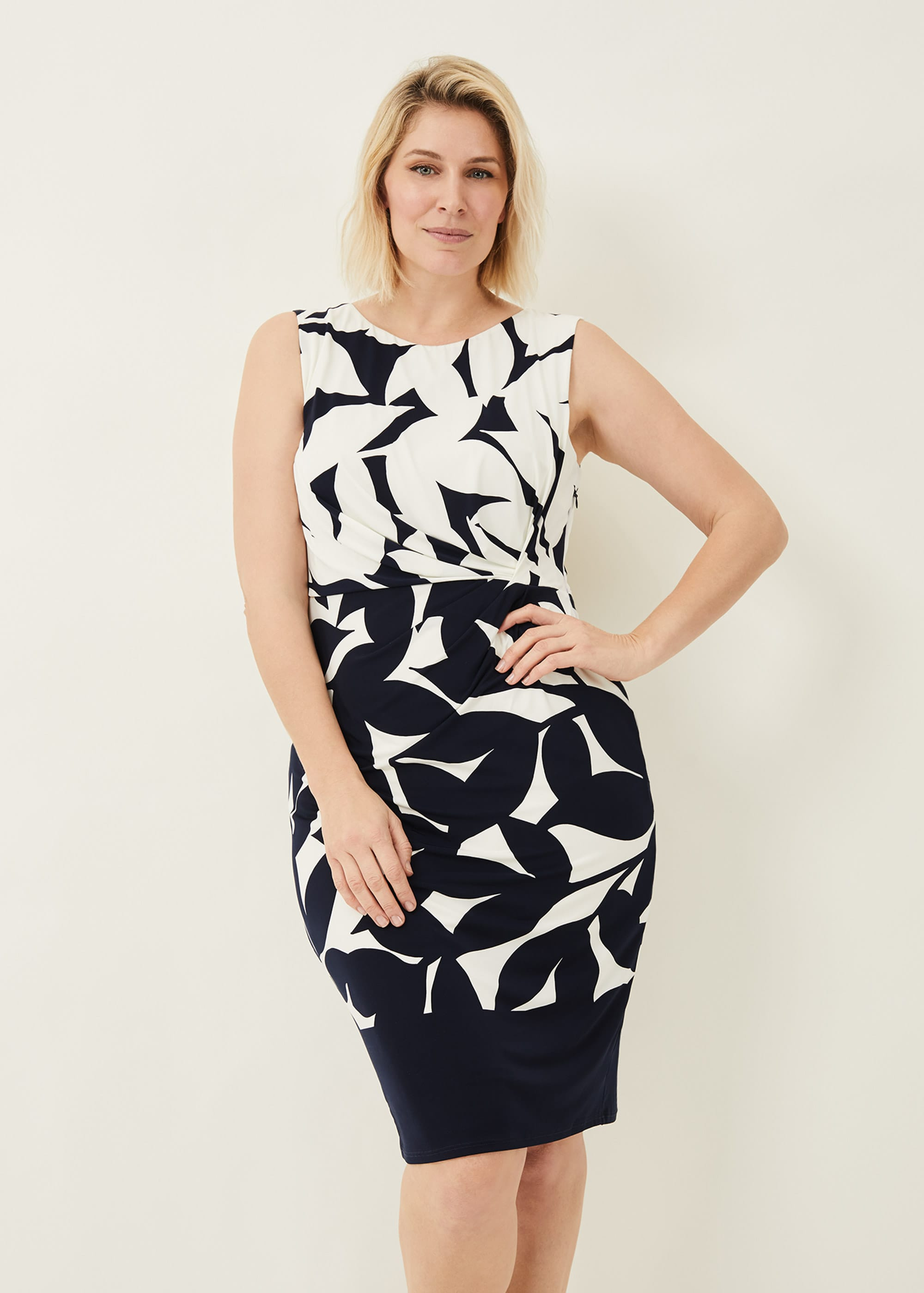 Phase Eight Women Barbara Contrast Floral Dress