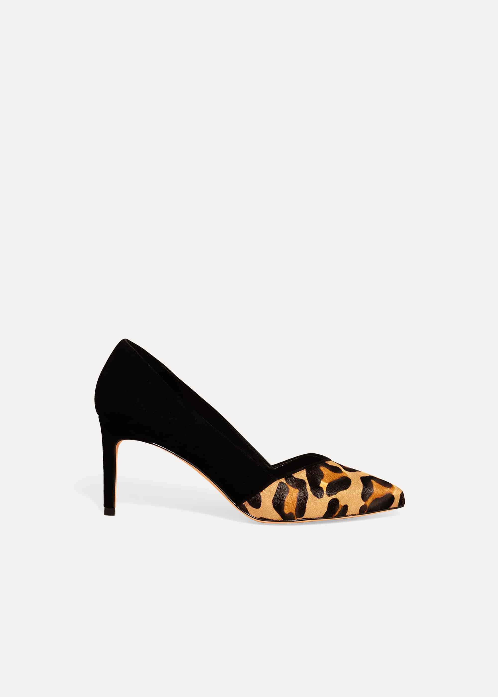 Phase Eight Women Lo Leopard Print Shoe