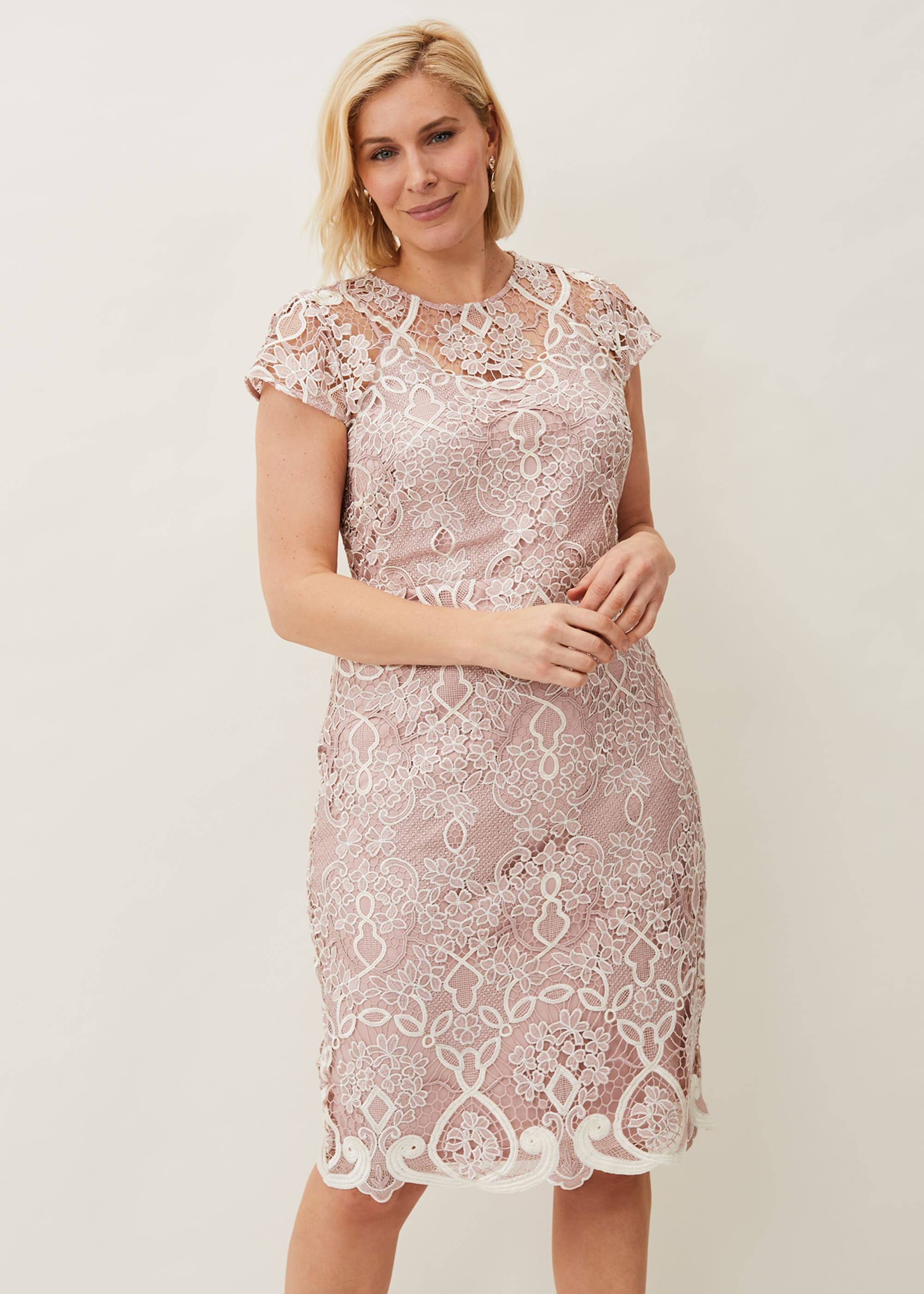 Phase Eight Women Frances Lace Fitted Dress