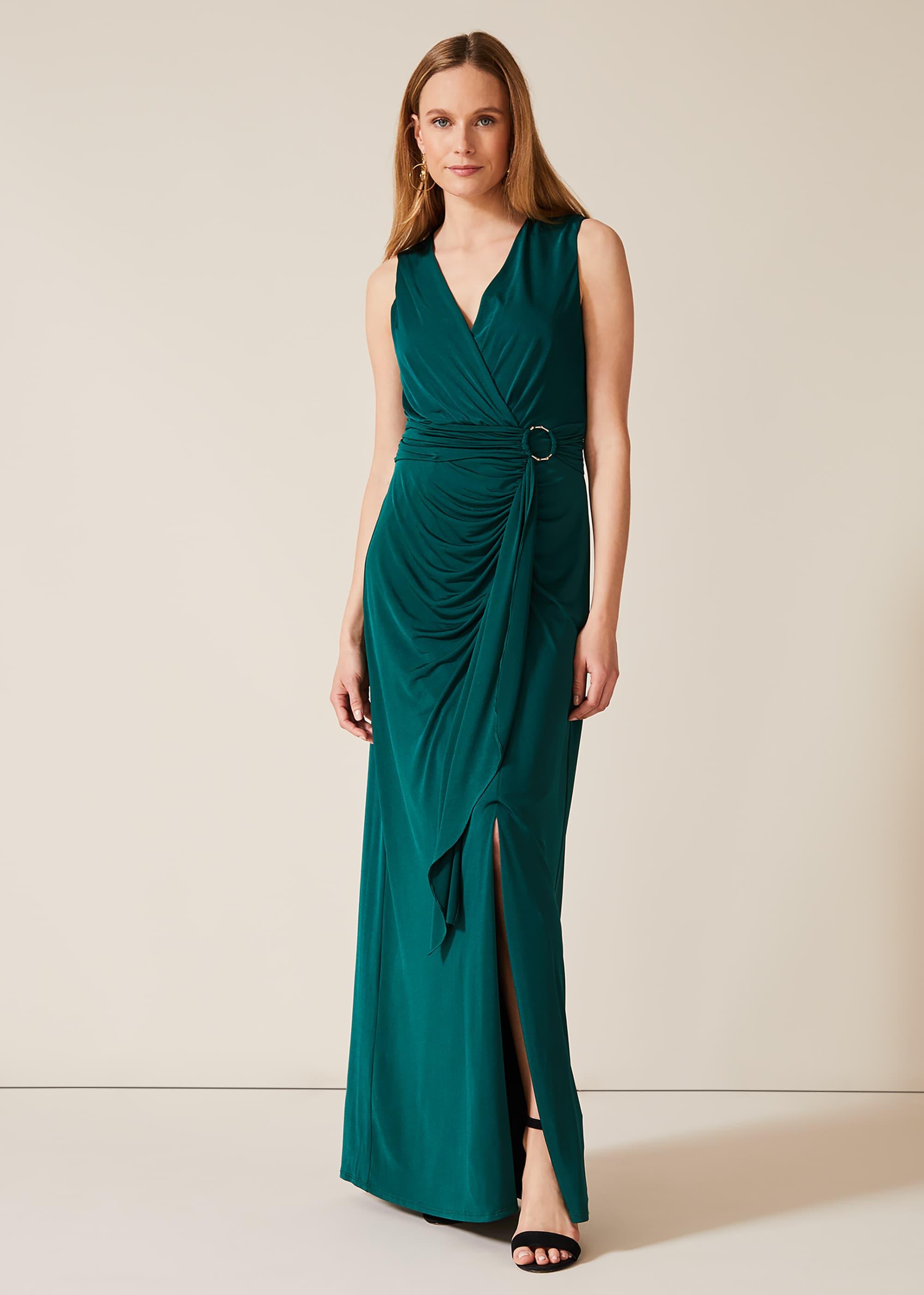 Phase Eight Women Caylee Drape Maxi Dress