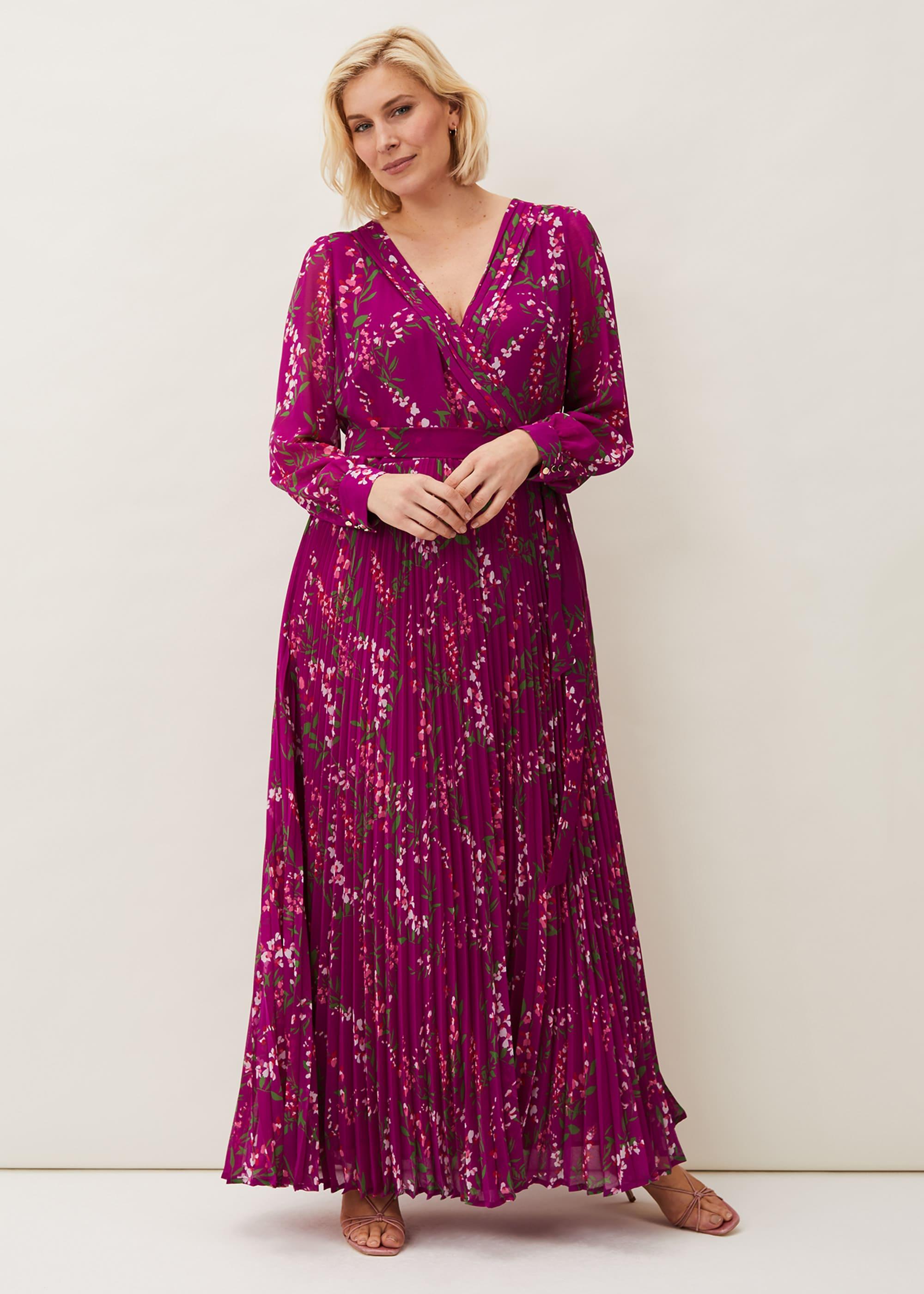 Phase Eight Women Carmen Pleated Maxi Dress