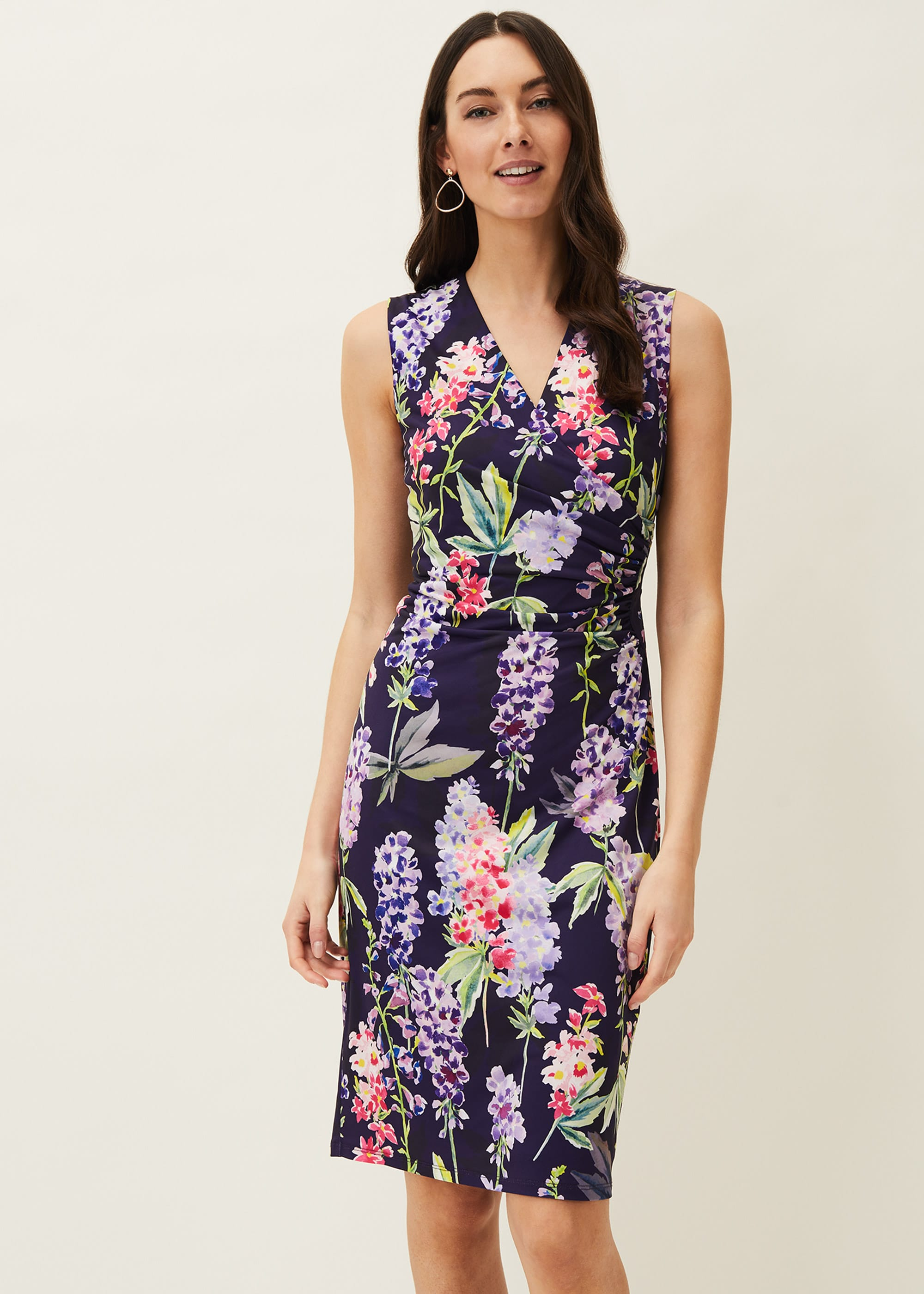 Phase Eight Women Winifred Floral Fitted Jersey Dress