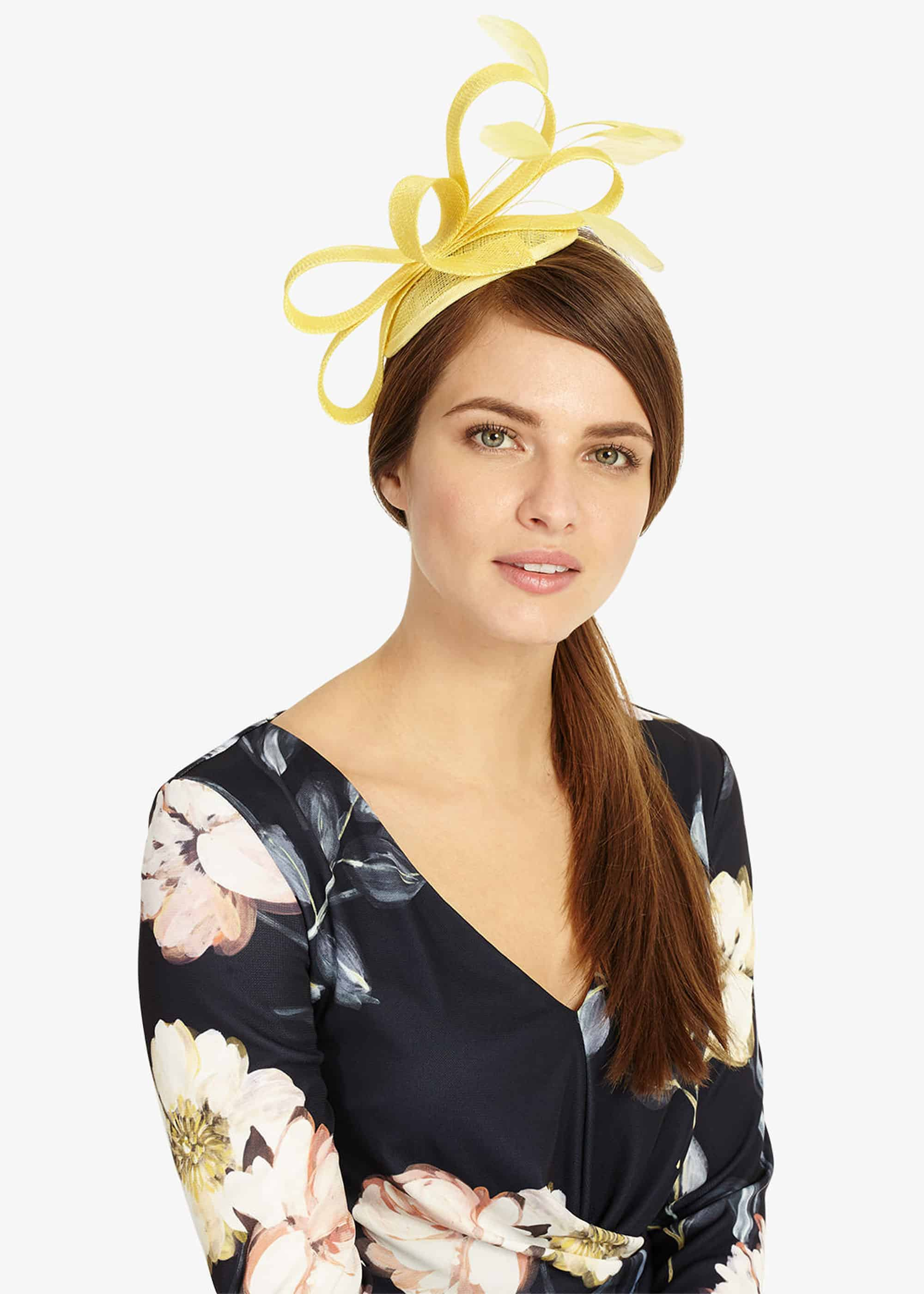 Phase Eight Women Anna Feather And Bow Fascinator