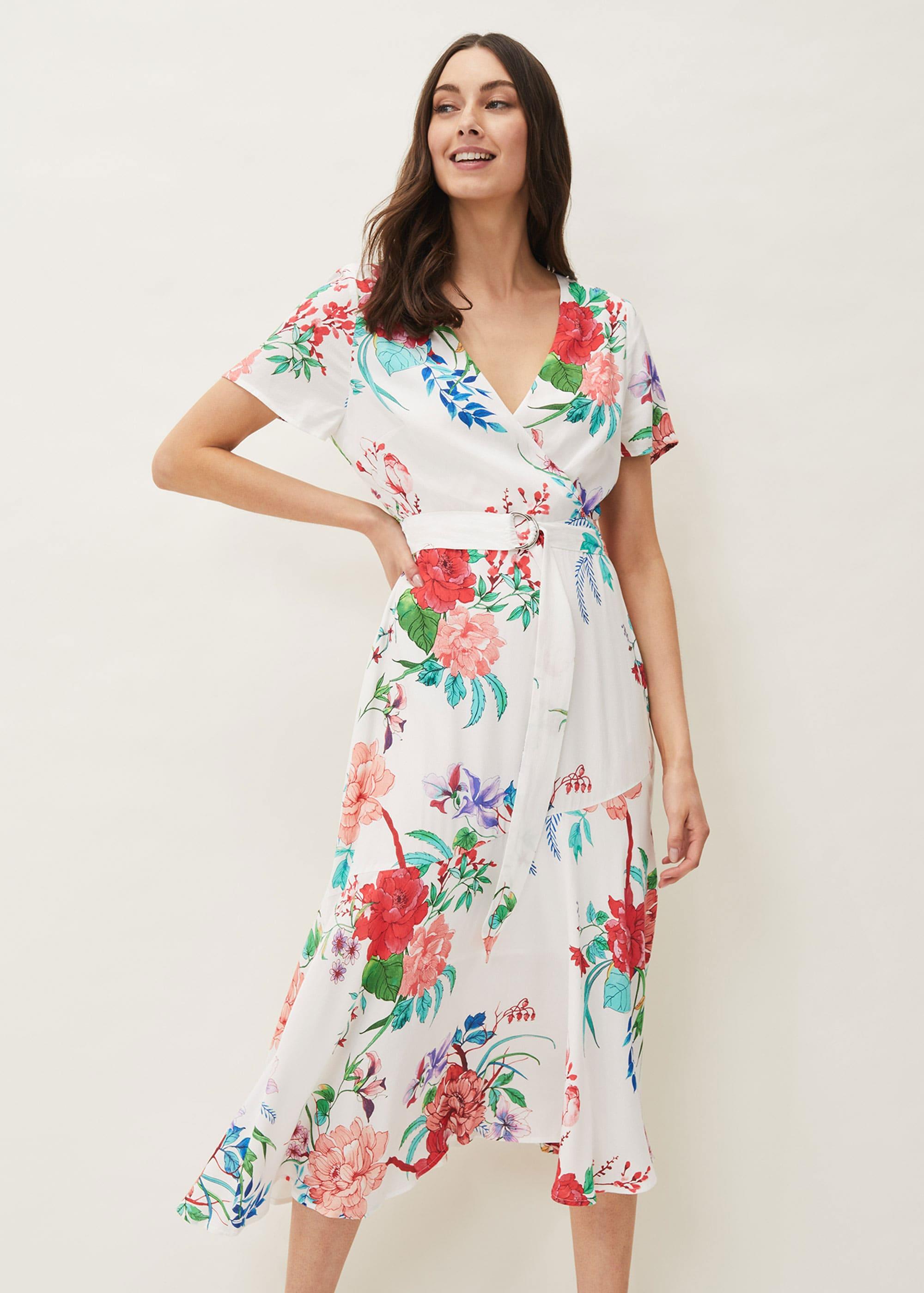 Phase Eight Women Evadine Floral Tea Dress