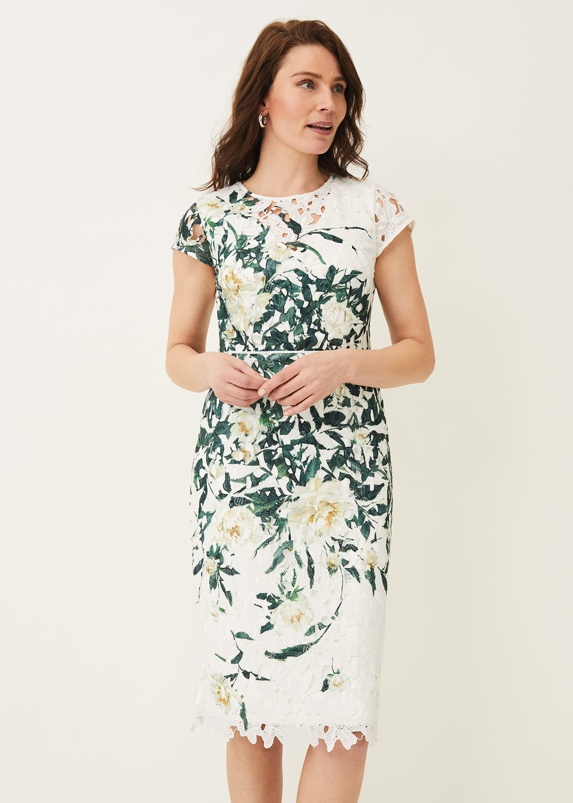 Phase Eight Women Claudine Floral Lace Dress