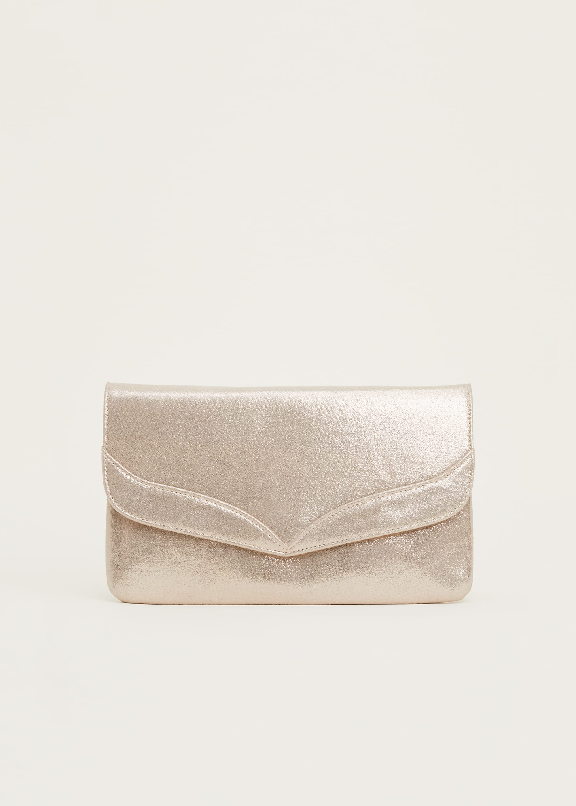 Phase Eight Women Caitlin Metallic Clutch Bag