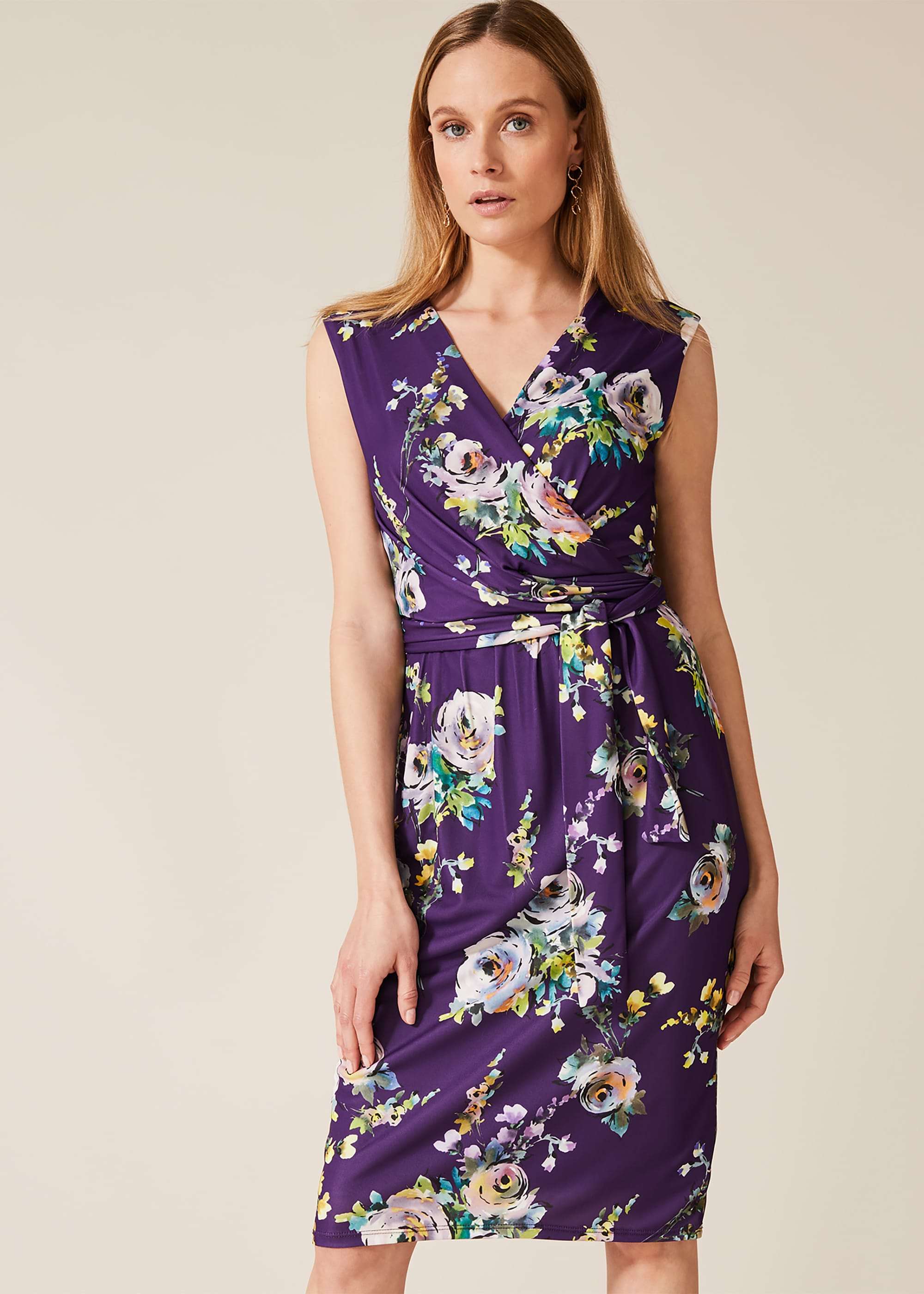 Phase Eight Women Franchesca Floral Print Dress