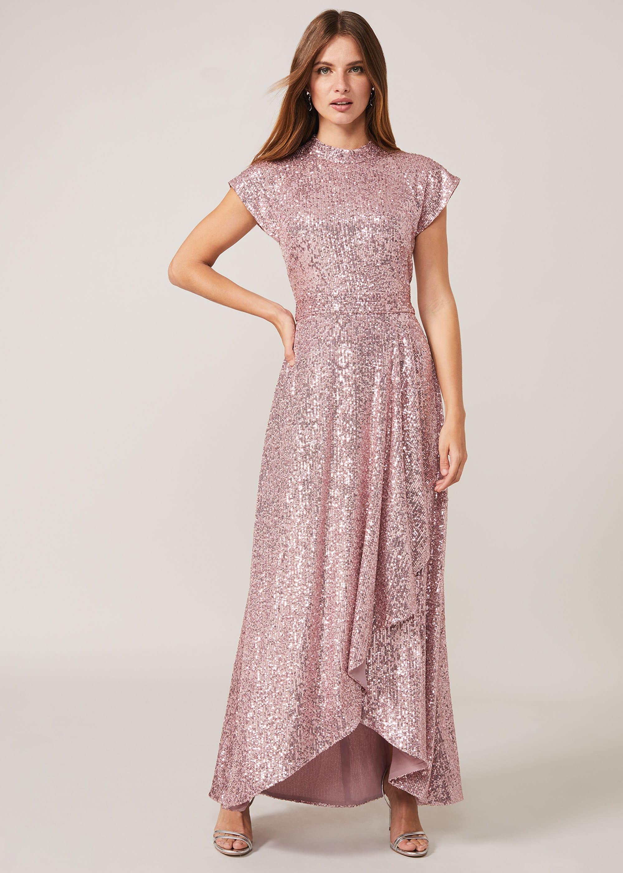 Phase Eight Women Kendra Sequin Maxi Dress