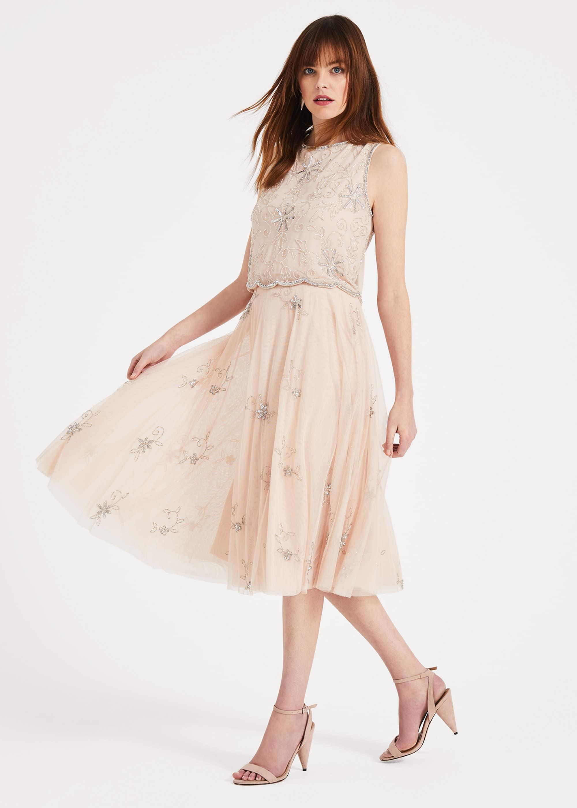 Phase Eight Women Maude Embellished Skirt