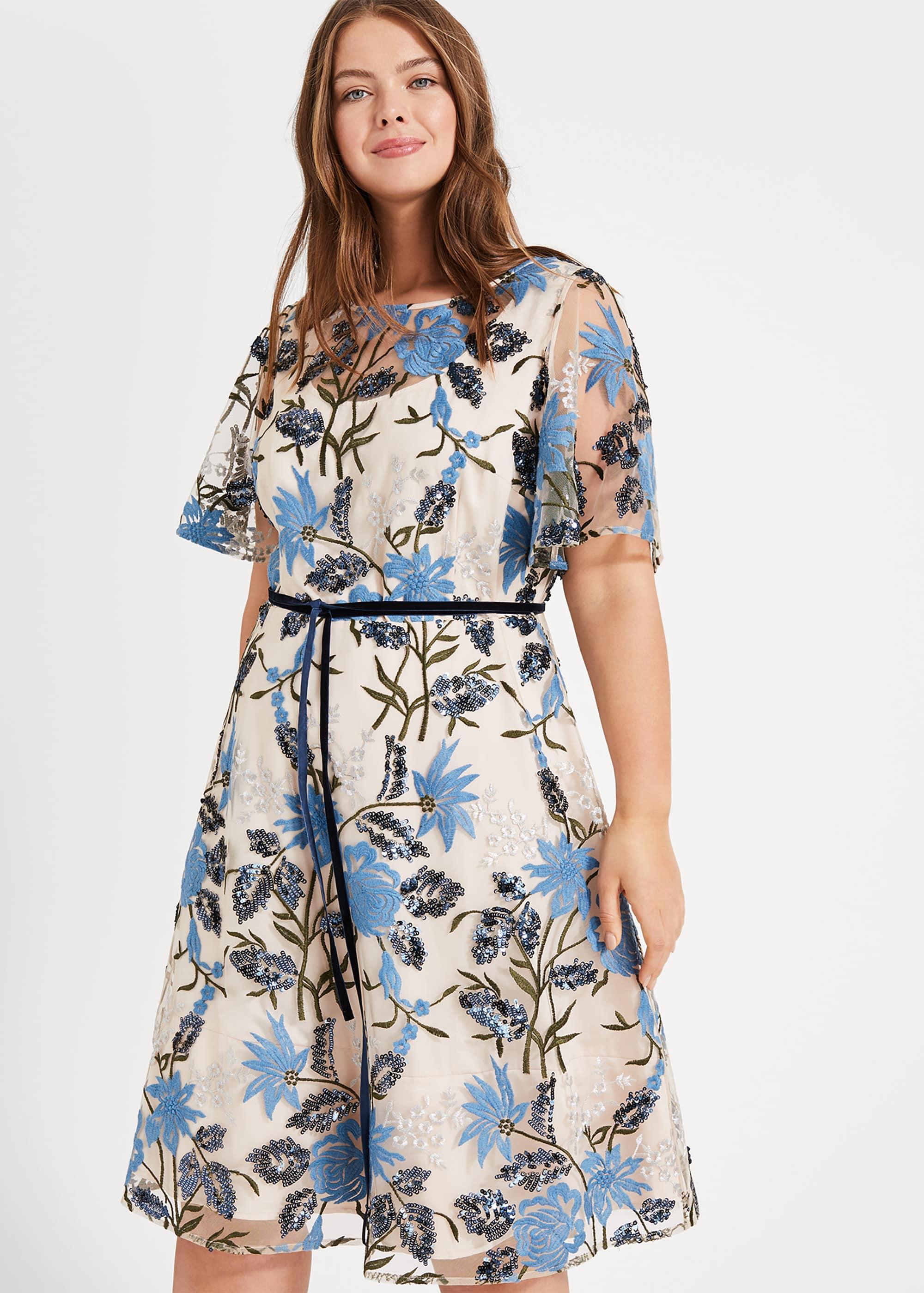 Studio 8 Women Nyla Embroidered Dress