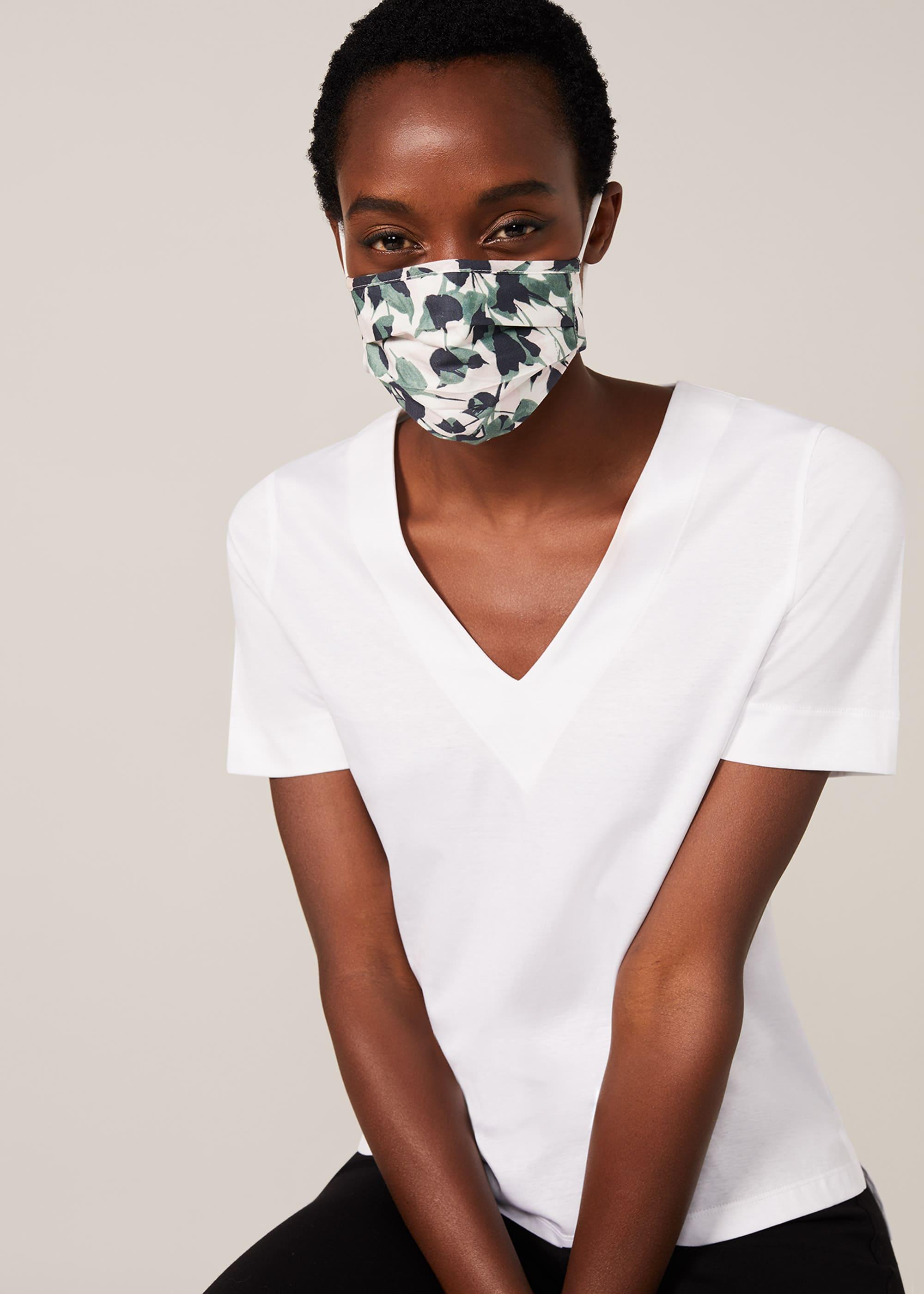 Phase Eight Women Larissa Leaf Face Mask