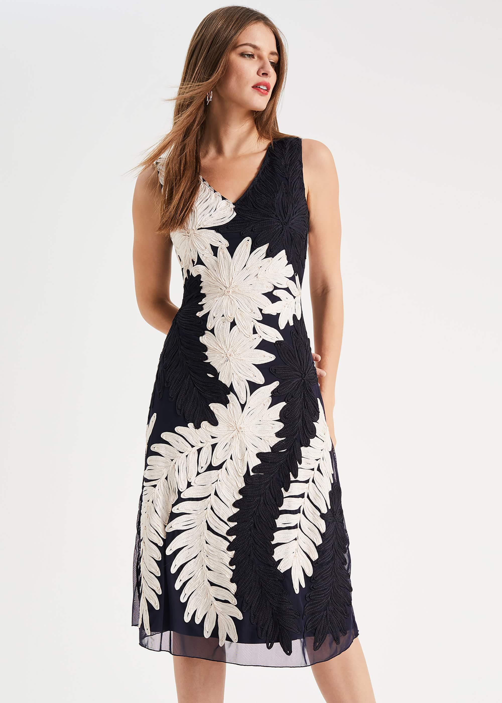 Phase Eight Women Denise Tapework Lace Dress
