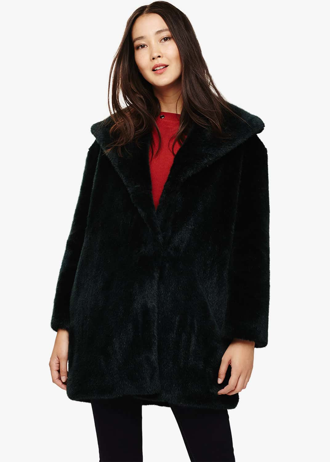 Phase Eight Women Beckie Faux Fur Coat