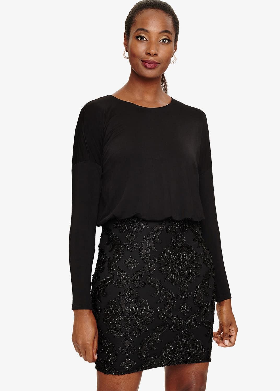 Phase Eight Women Diana Devore Skirt Dress