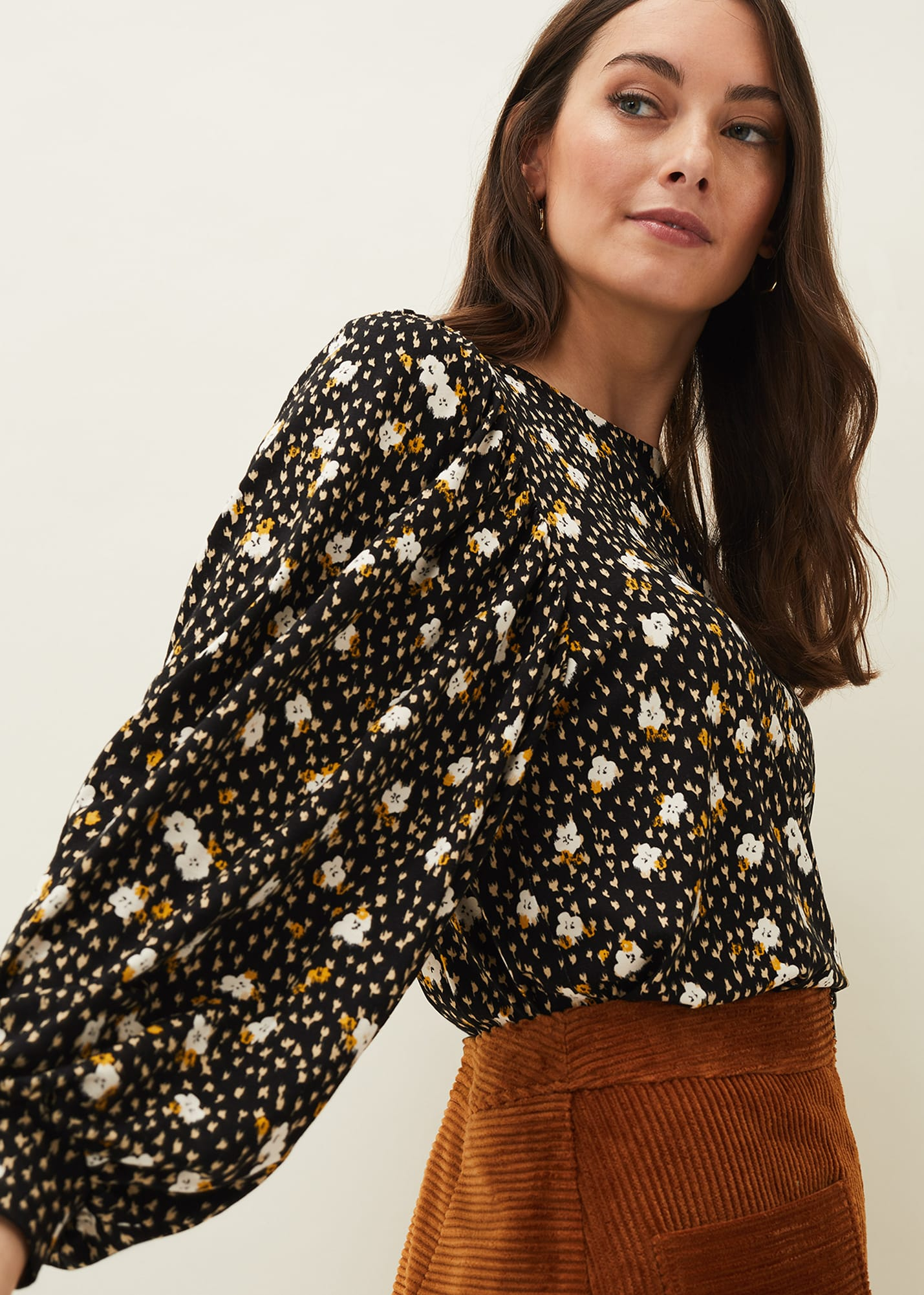 Phase Eight Women Daizy Ditsy Print Jersey Top