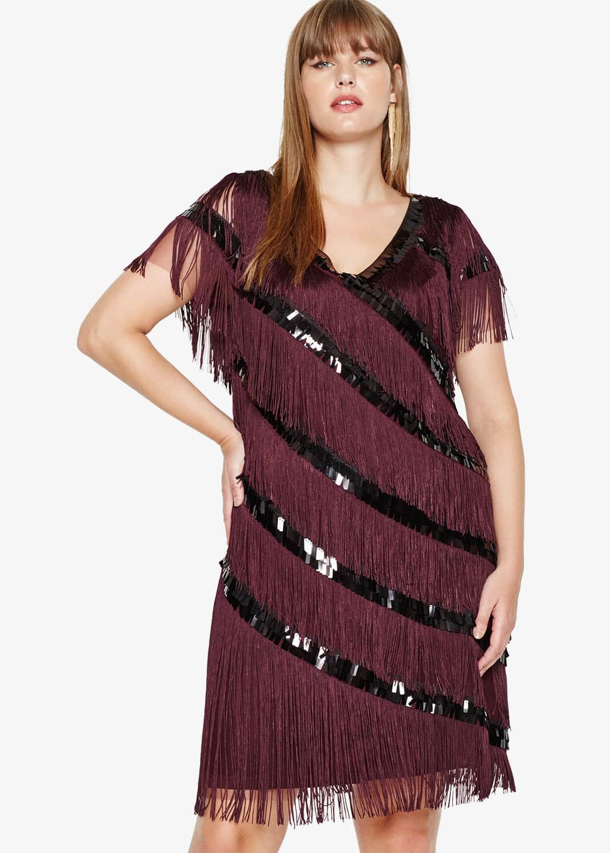 Studio 8 Women Lottie Fringe Dress